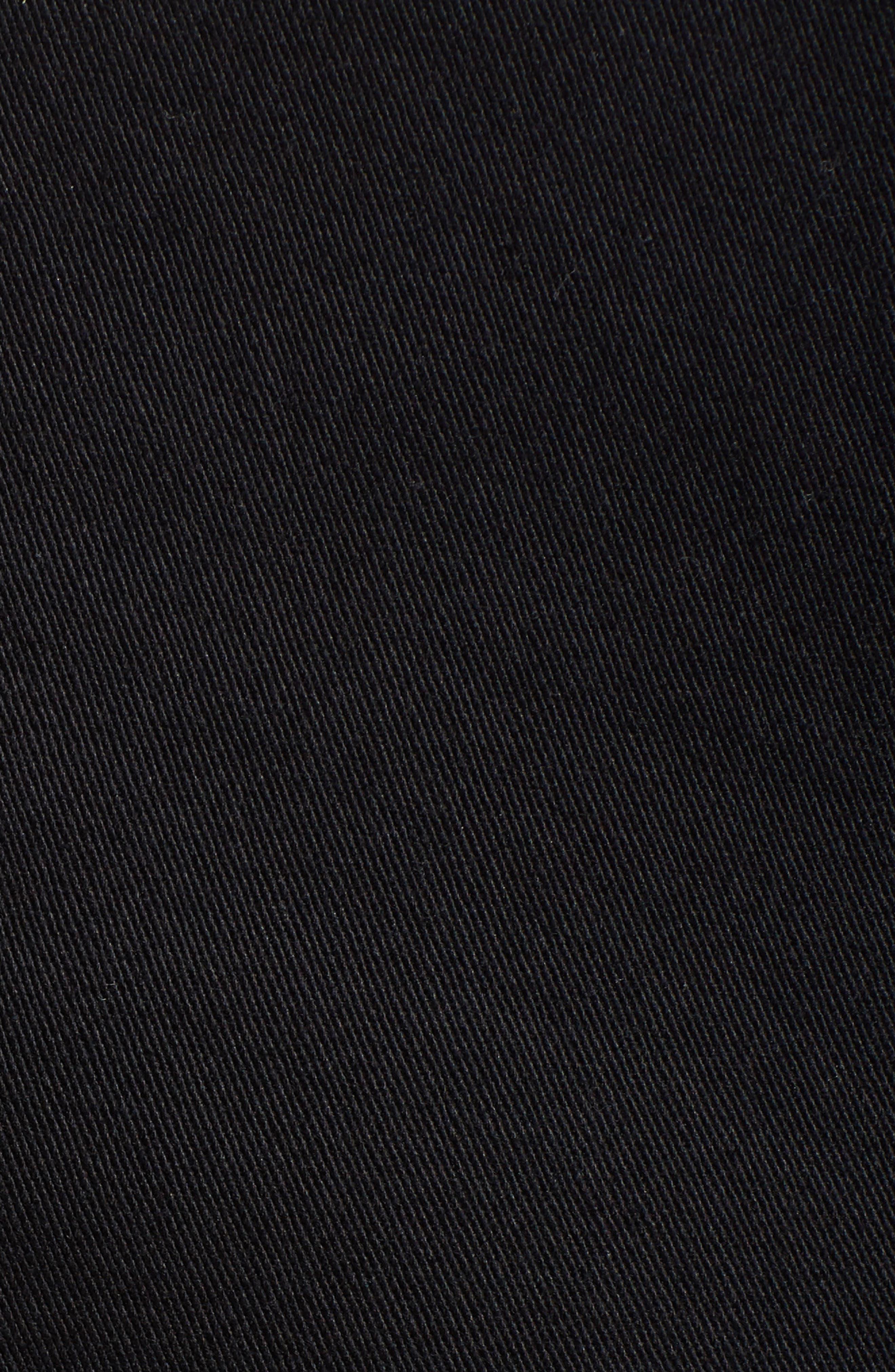 Denim Pinafore Dress,                             Alternate thumbnail 6, color,