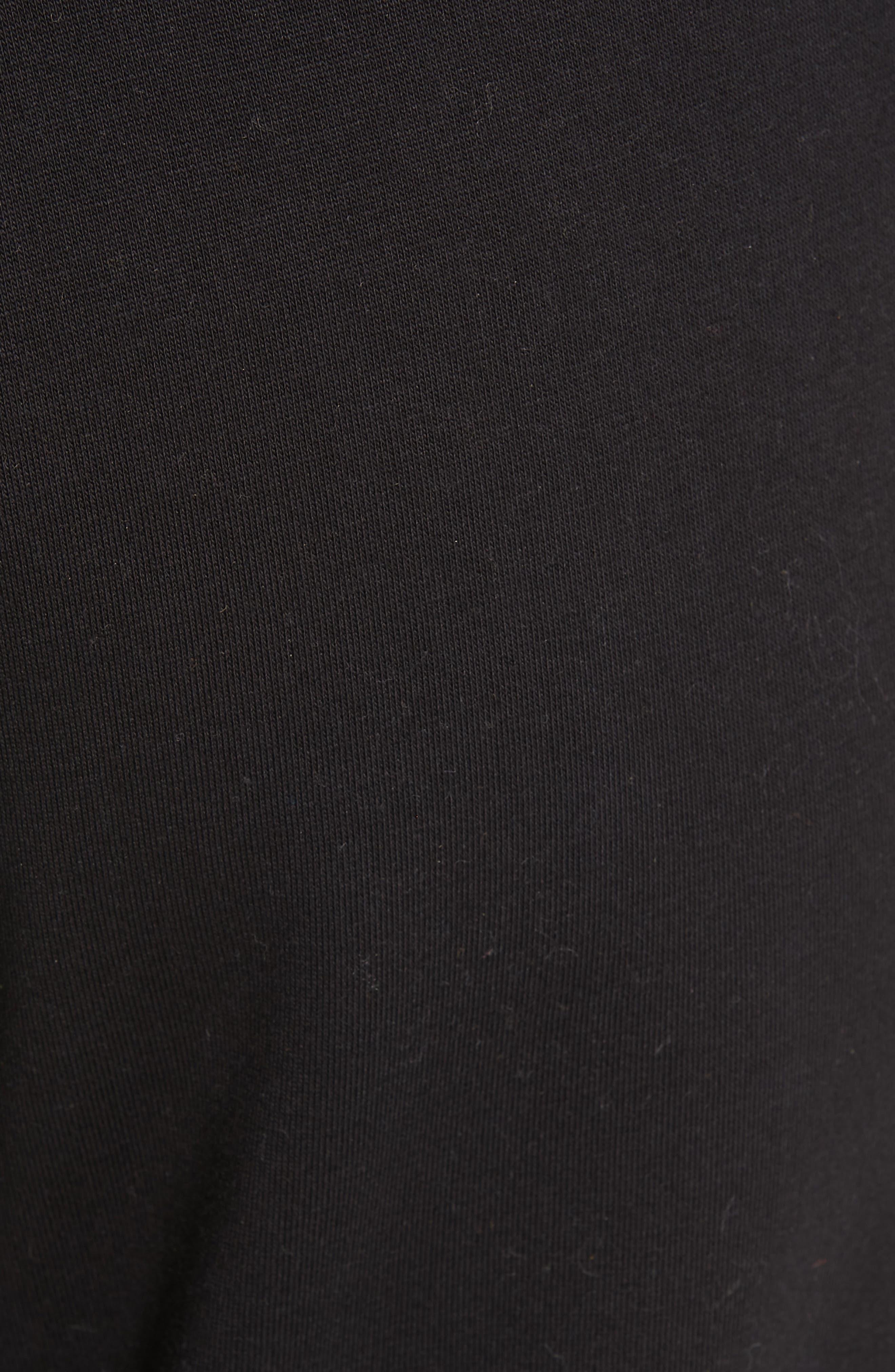 FENDI,                             x FILA Mania Logo Jersey Track Pants,                             Alternate thumbnail 5, color,                             BLACK