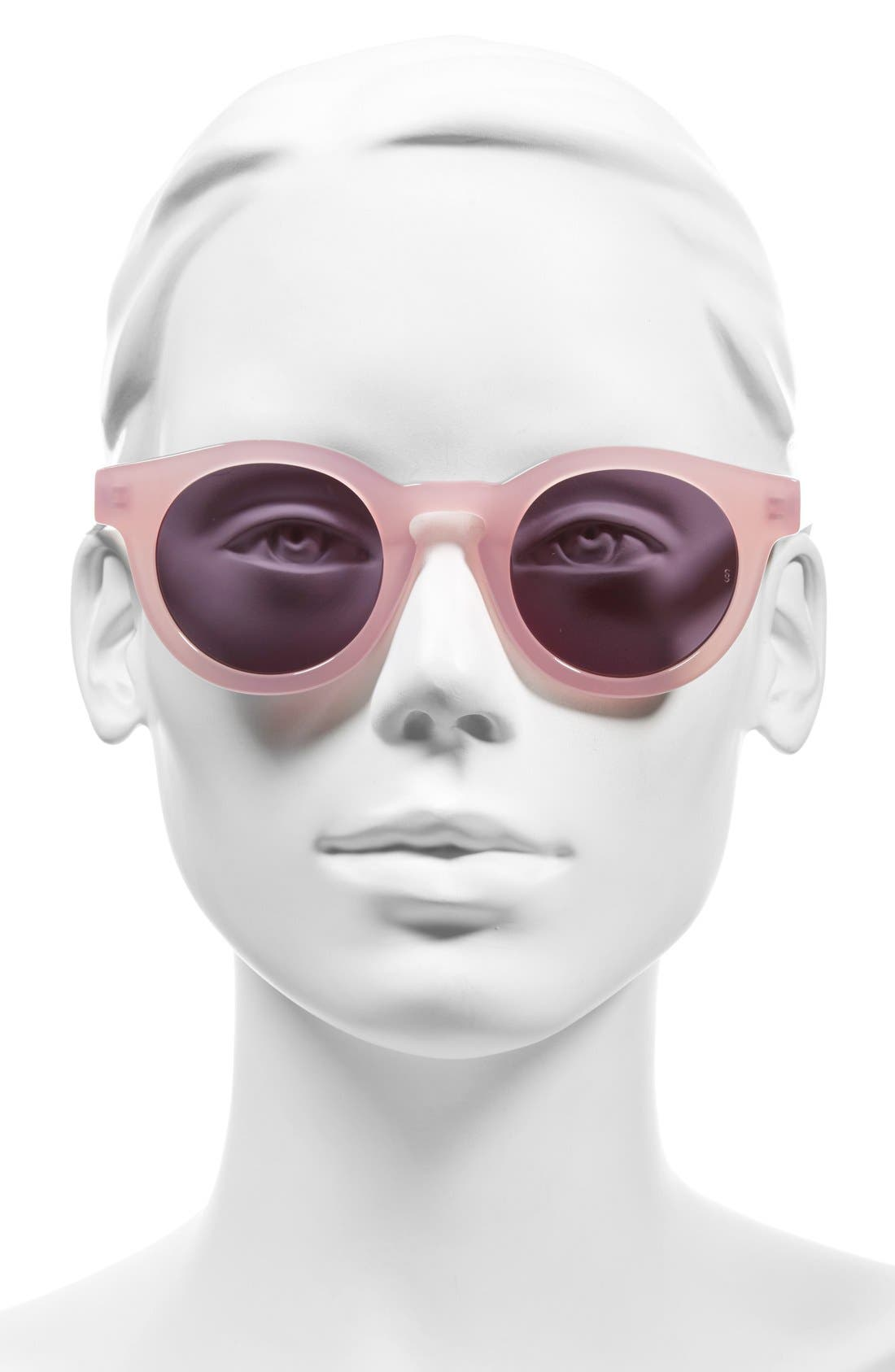 'Soelae' 46mm Round Sunglasses,                             Alternate thumbnail 2, color,                             650