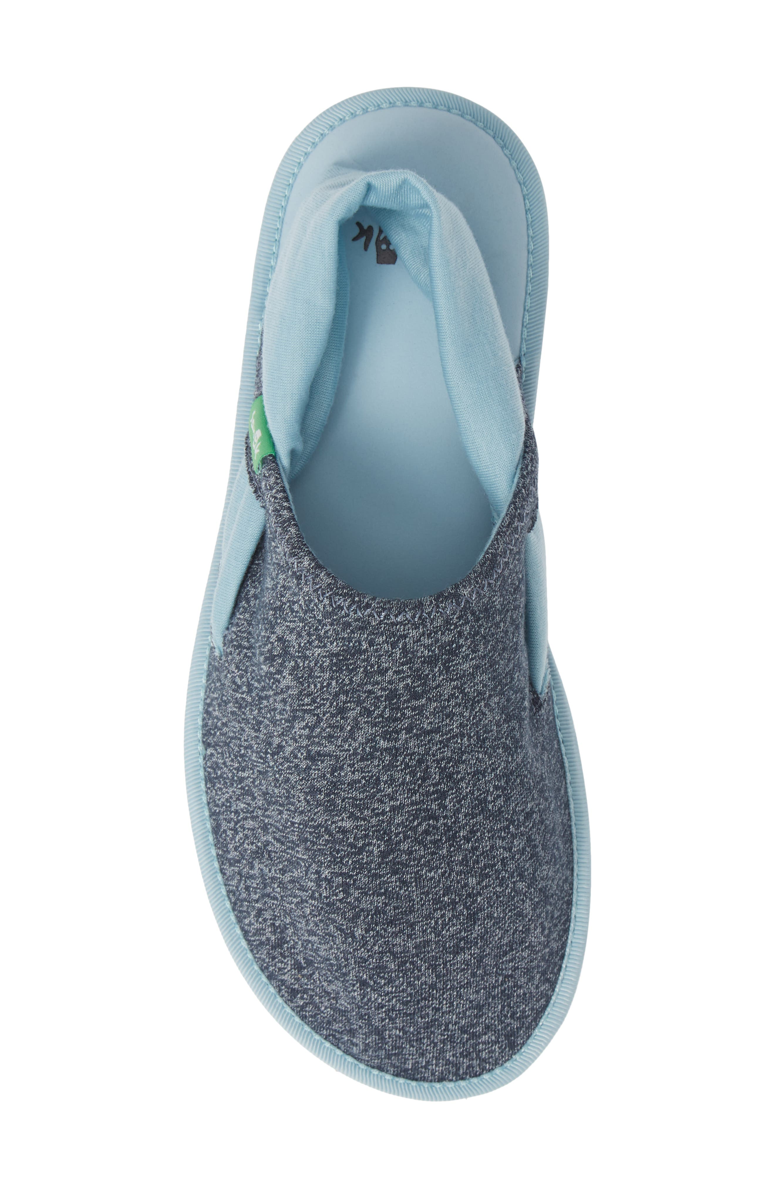 Lil Yoga Sling Cruz Slip-On,                             Alternate thumbnail 5, color,                             HEATHER OUTERSPACE