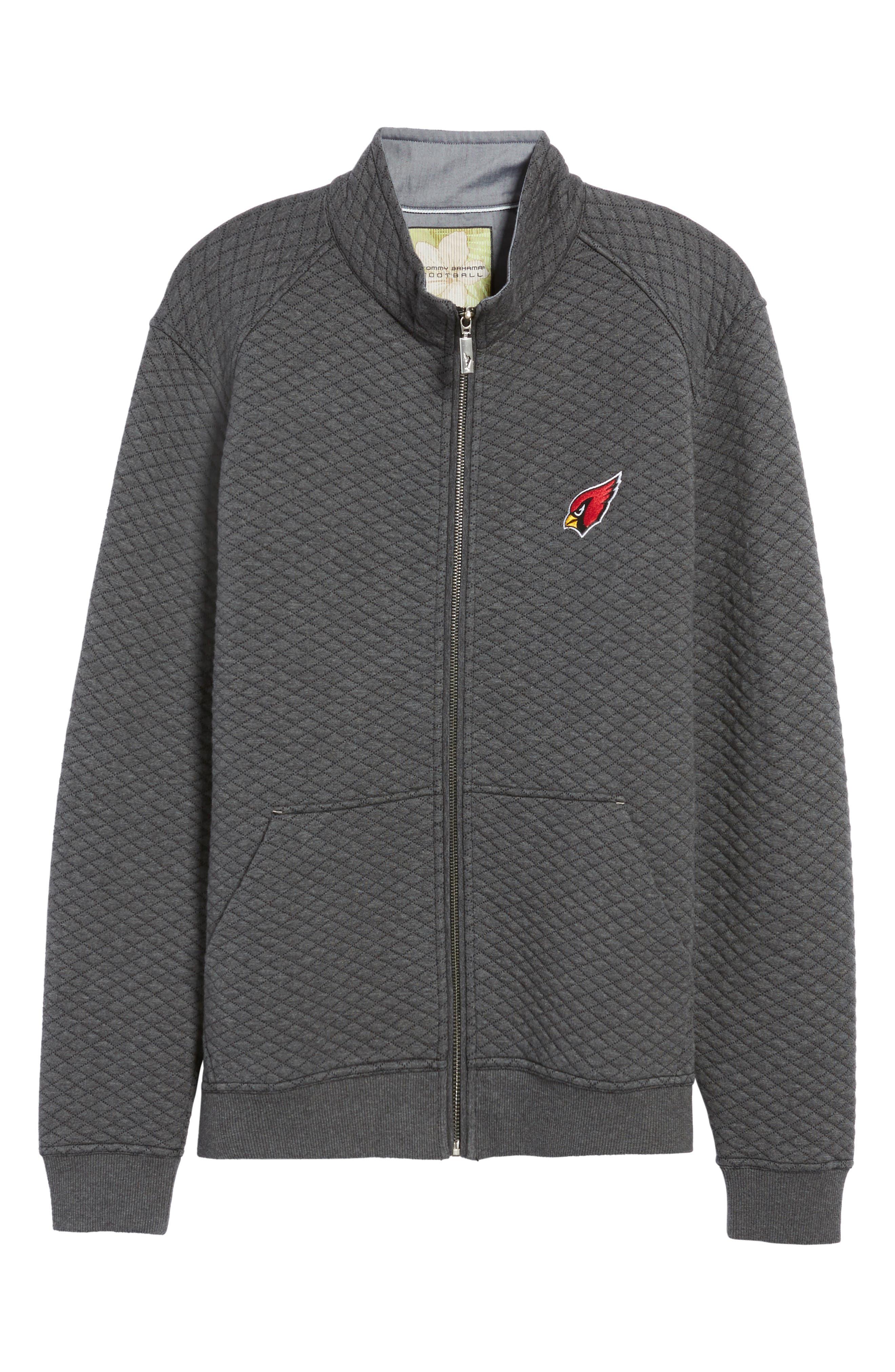 NFL Quiltessential Full Zip Sweatshirt,                             Alternate thumbnail 157, color,