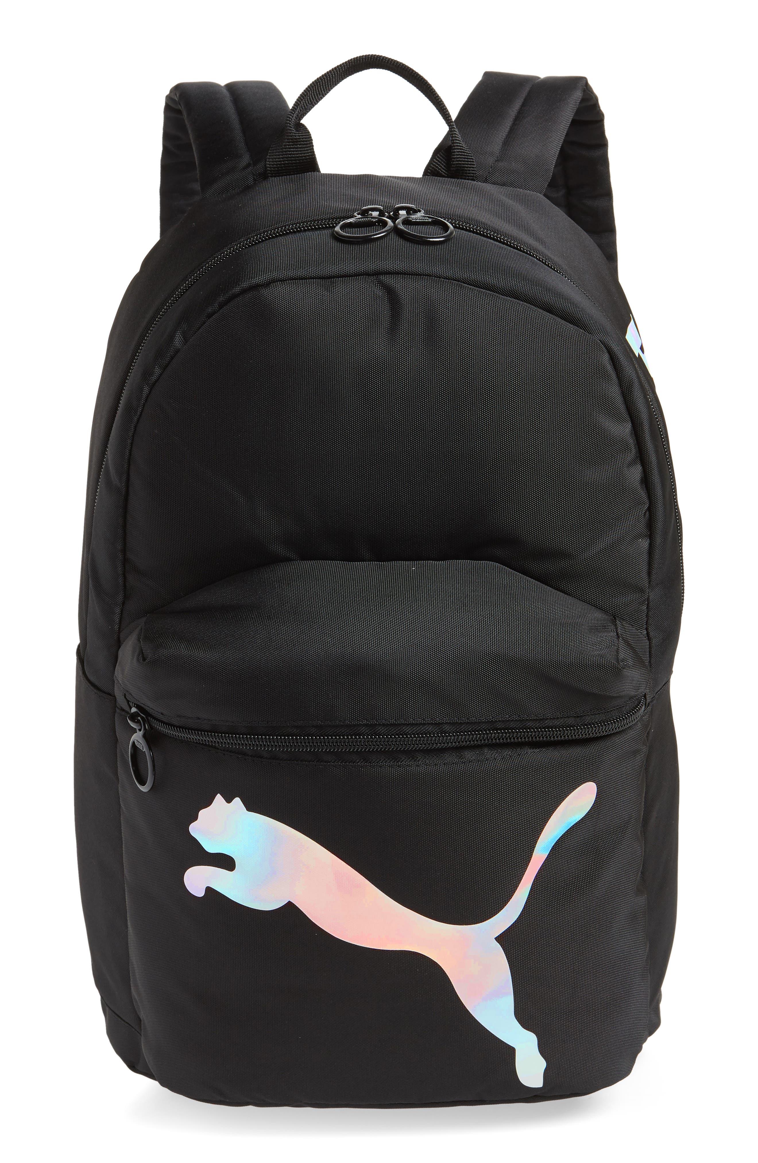 Essential Backpack,                         Main,                         color, BLACK