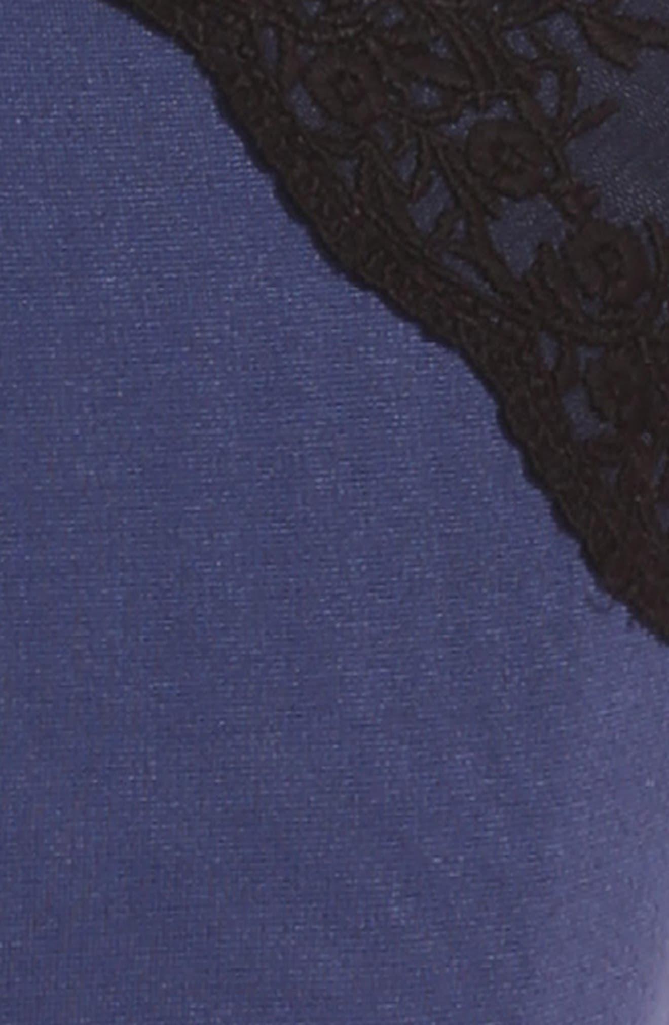 Ponte Skater Dress,                             Alternate thumbnail 3, color,                             401