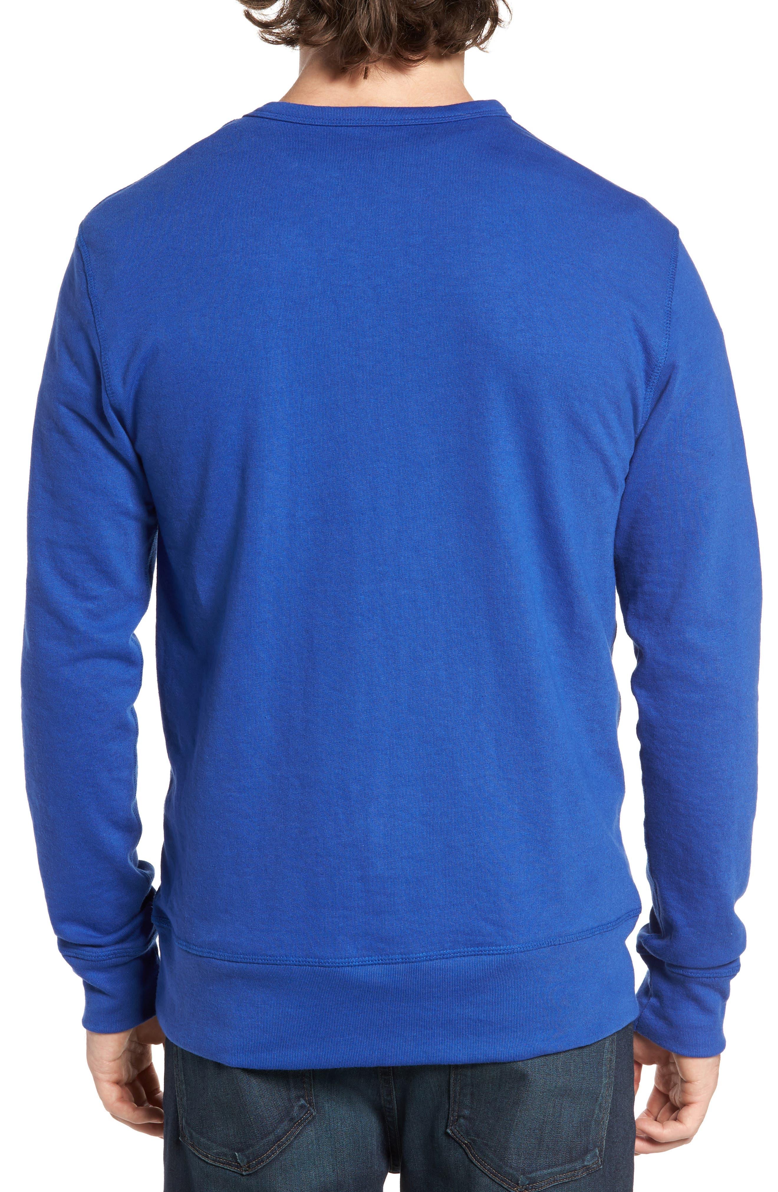 B-Side Reversible Crewneck Sweatshirt,                             Alternate thumbnail 13, color,
