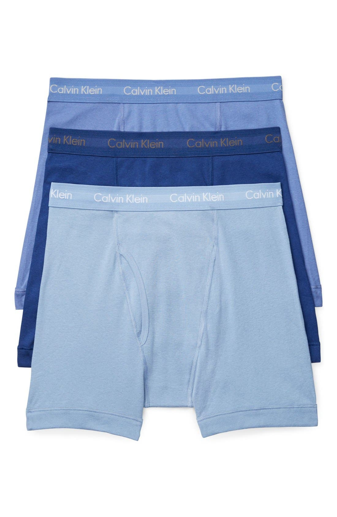 3-Pack Boxer Briefs,                             Main thumbnail 1, color,                             BLUE ASSORTED
