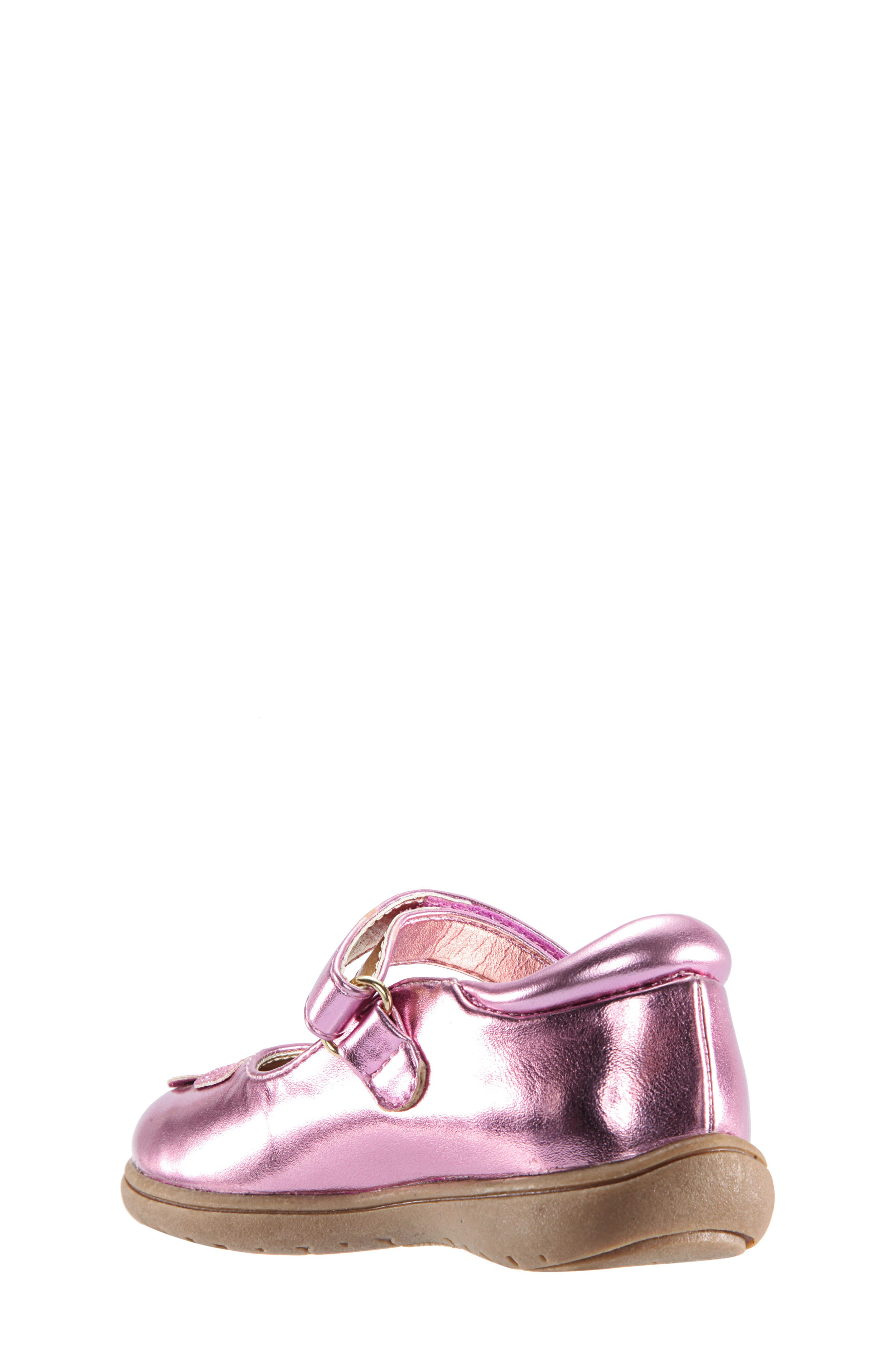 Alysha Glitter Mary Jane,                             Alternate thumbnail 2, color,                             PINK/ SMOOTH GLITTER