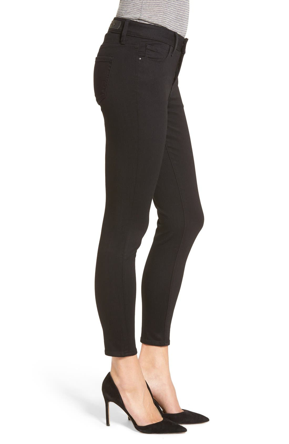 Legacy Crop Skinny Jeans,                             Alternate thumbnail 12, color,                             001