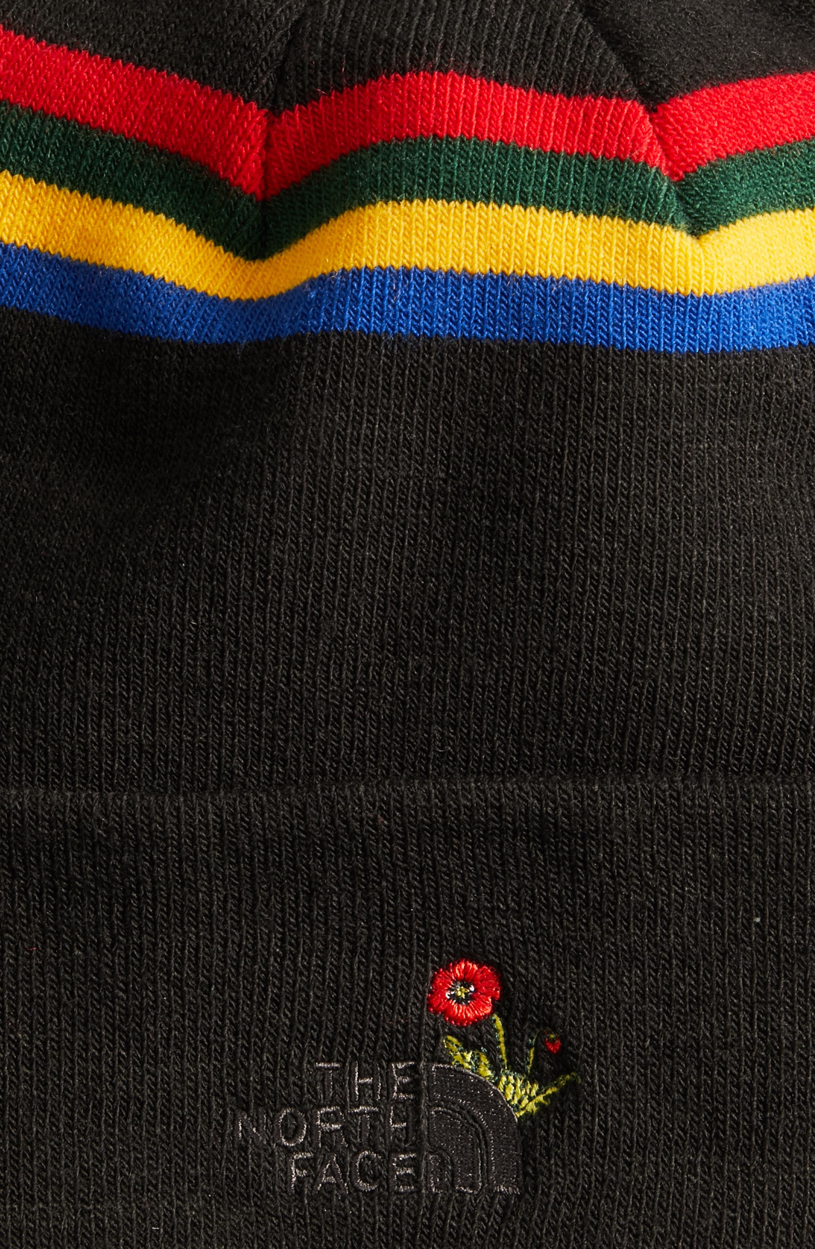 Poppy Dock Workers Beanie,                             Alternate thumbnail 3, color,                             001