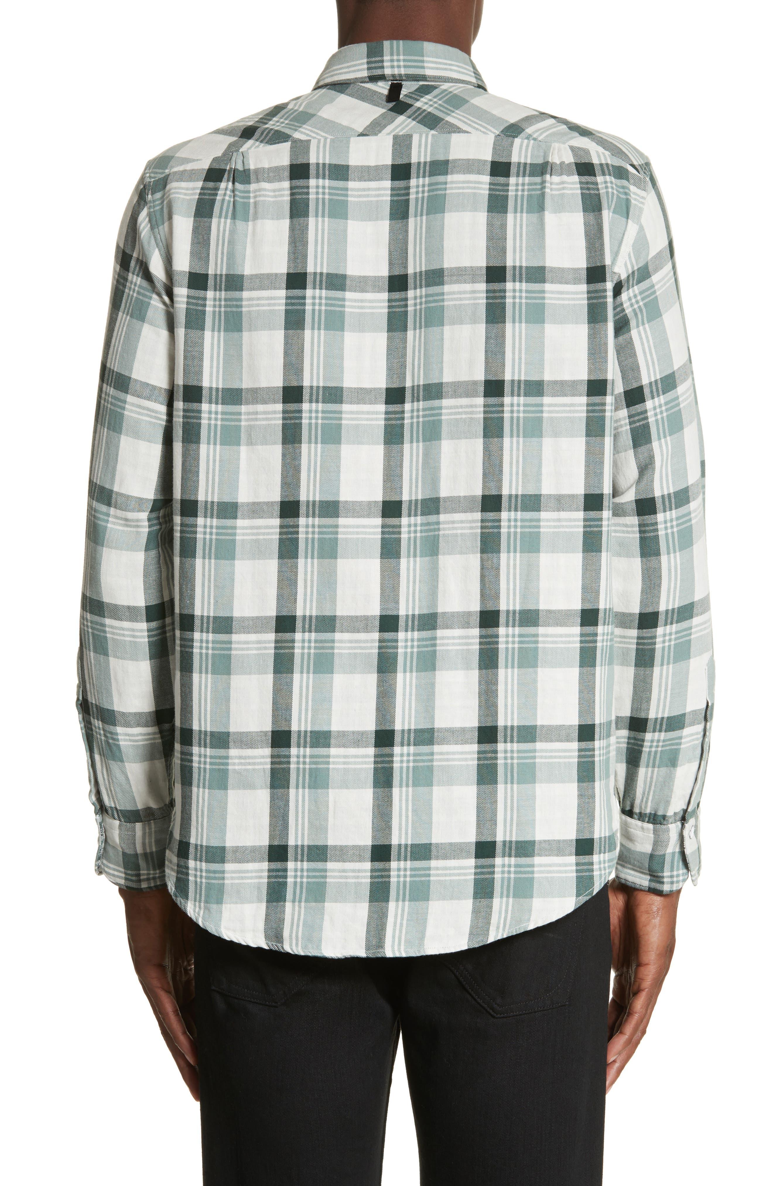 Plaid Woven Shirt,                             Alternate thumbnail 2, color,                             320