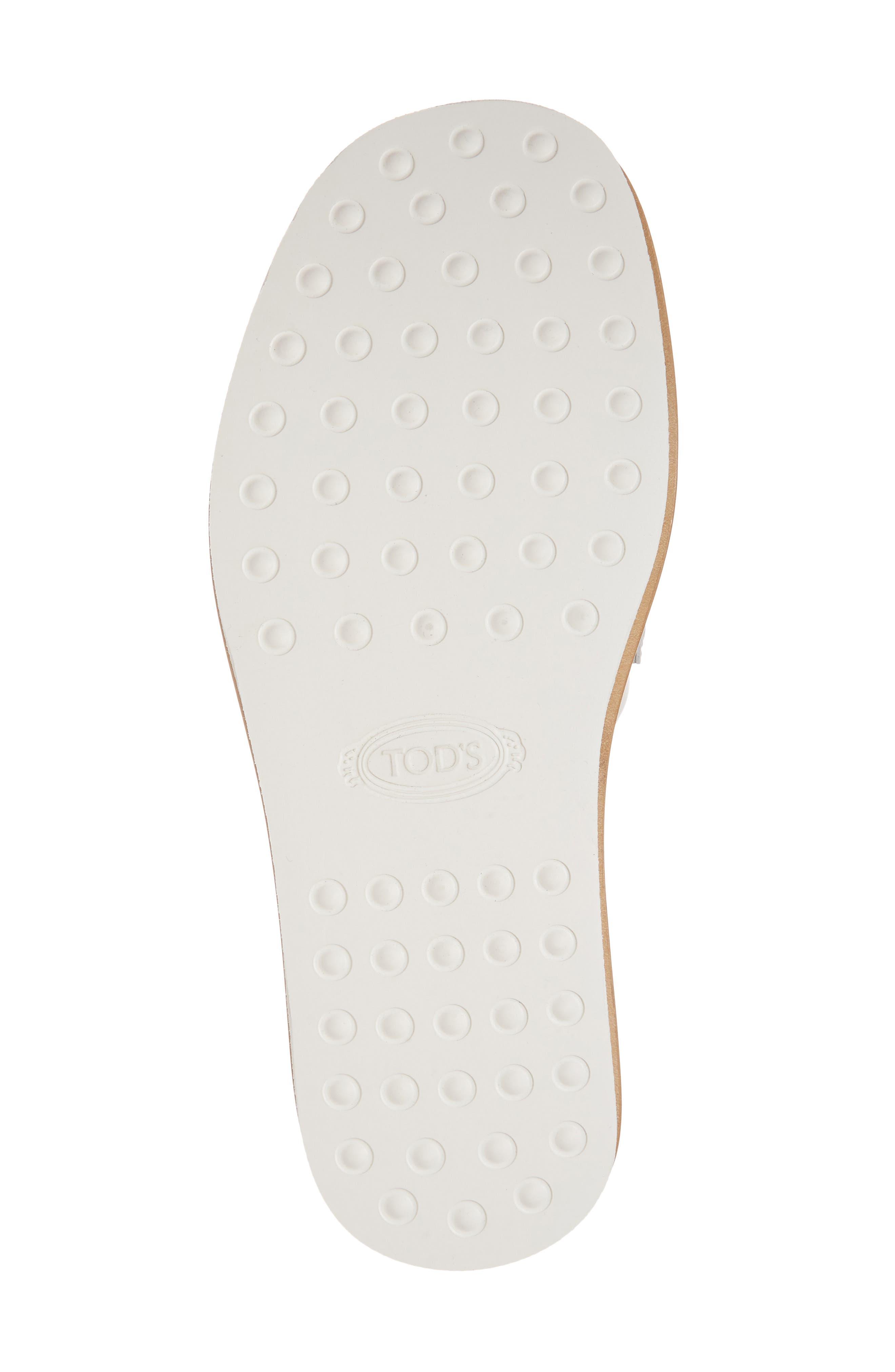 Studded Fringe Slide Sandal,                             Alternate thumbnail 17, color,