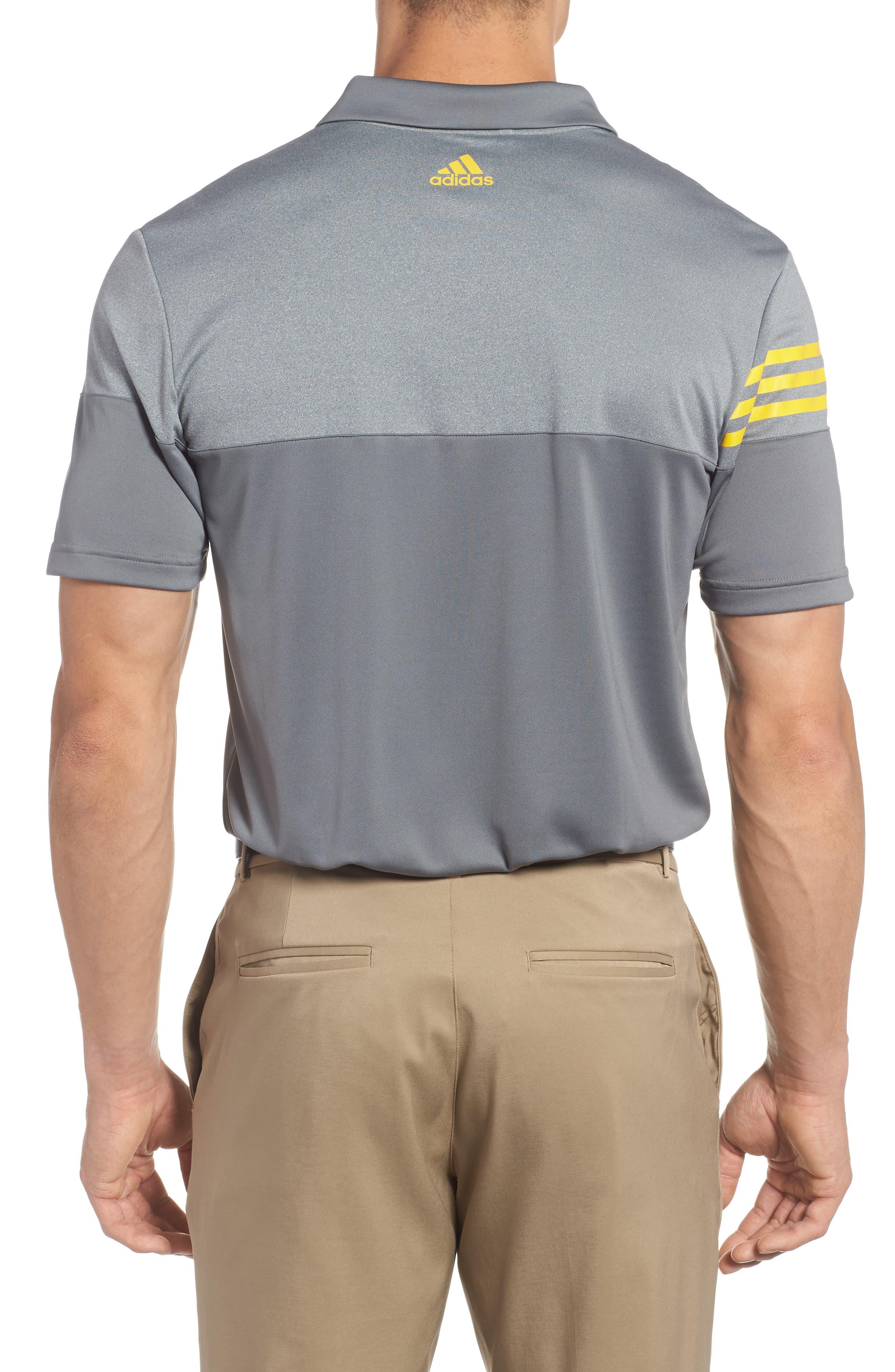 Regular Fit 3-Stripes Golf Polo,                             Alternate thumbnail 2, color,                             086