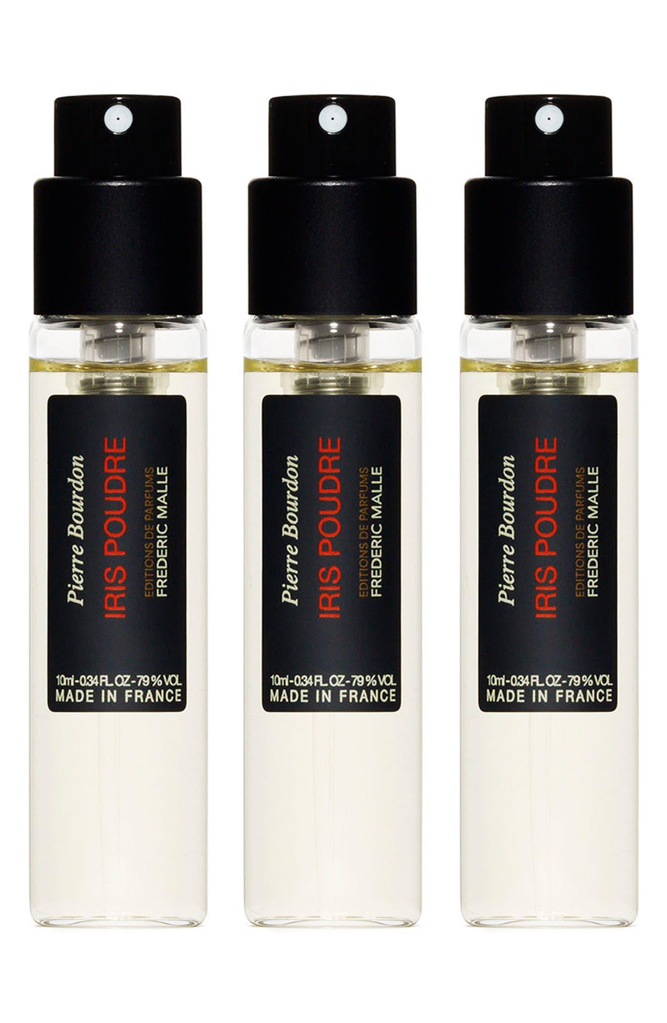 Iris Poudre Parfum Spray Travel Set,                             Main thumbnail 1, color,                             000