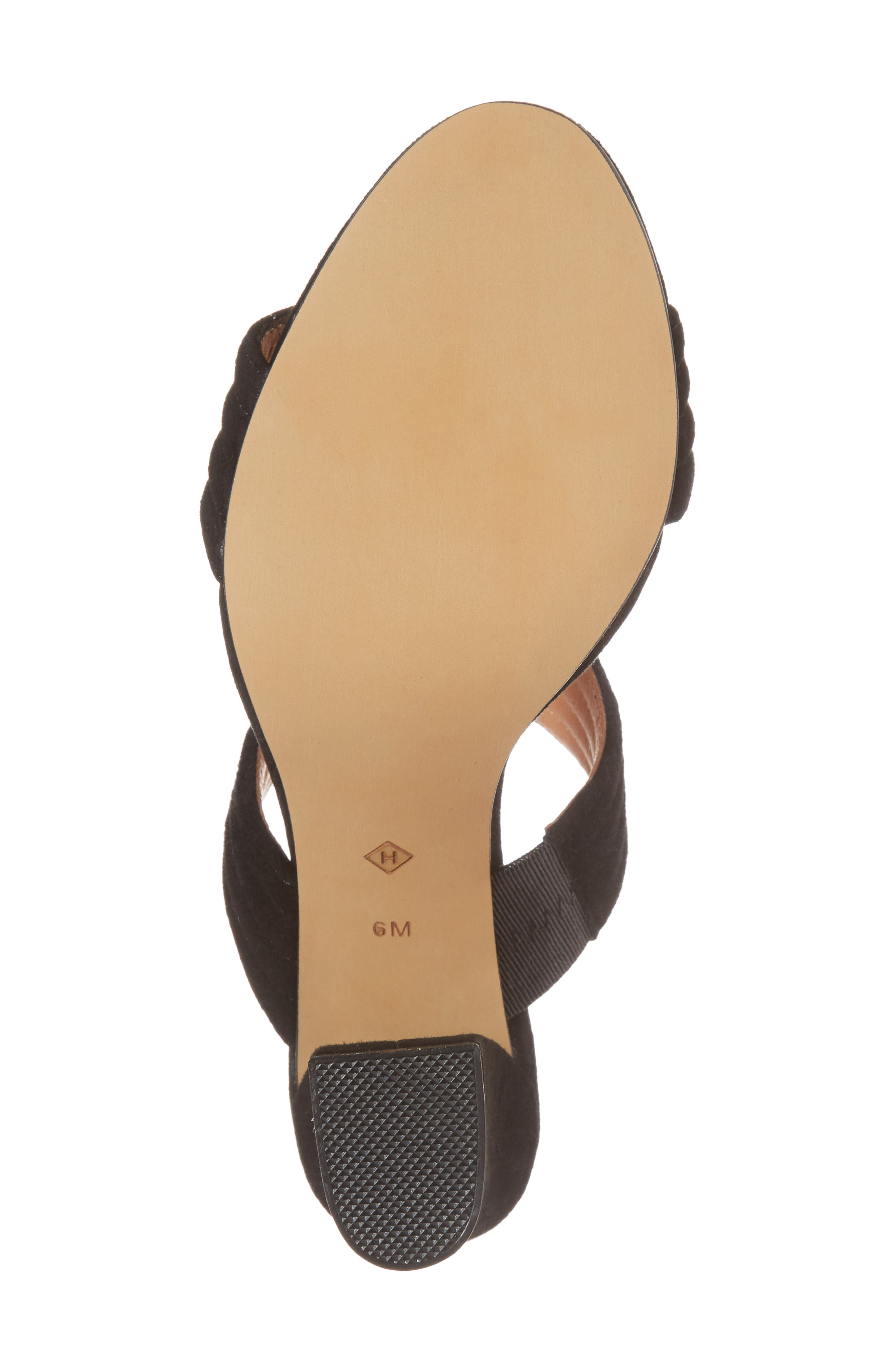 Della Slide Sandal,                             Alternate thumbnail 6, color,                             001