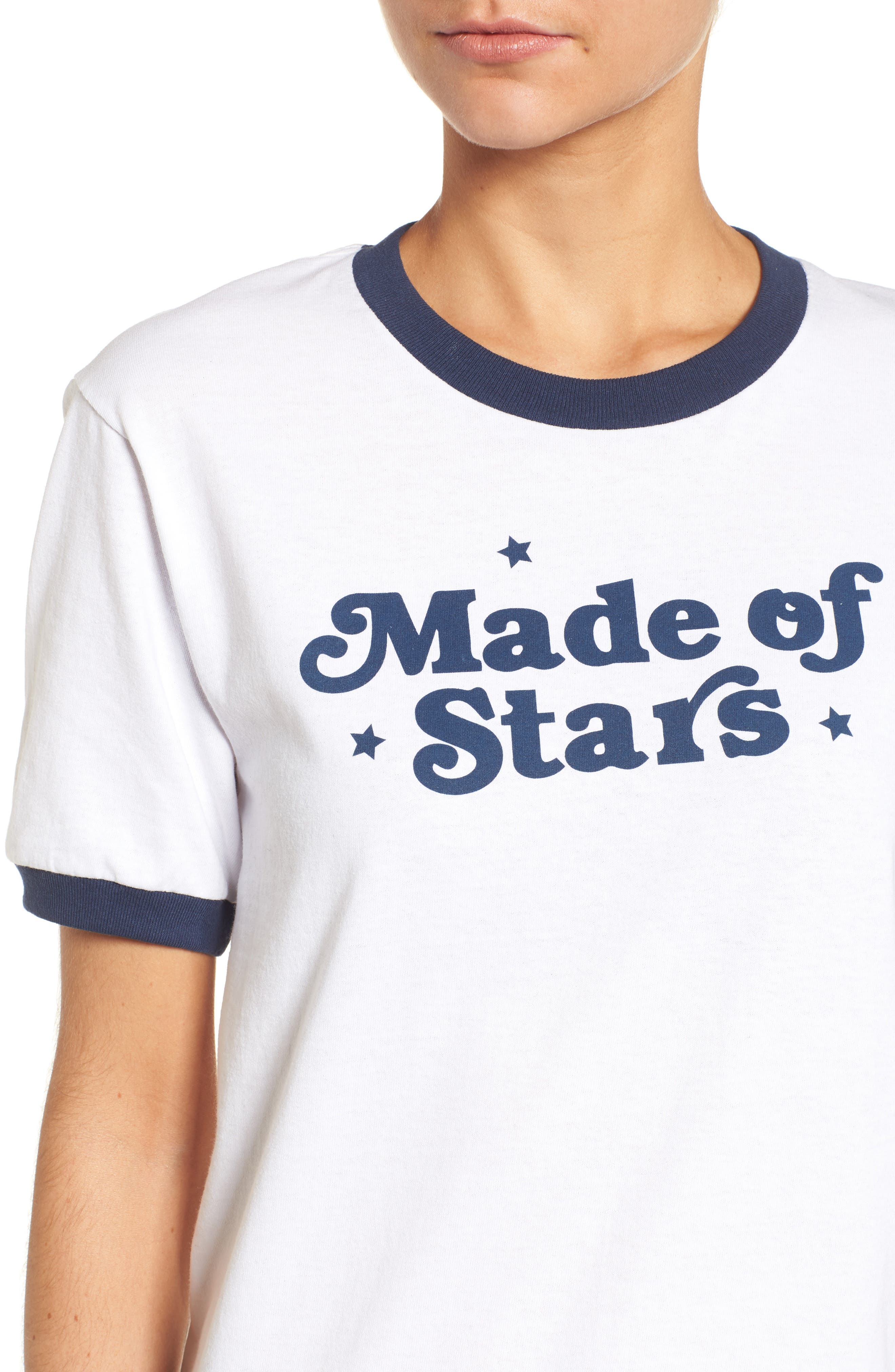Made of Stars Tee,                             Alternate thumbnail 4, color,