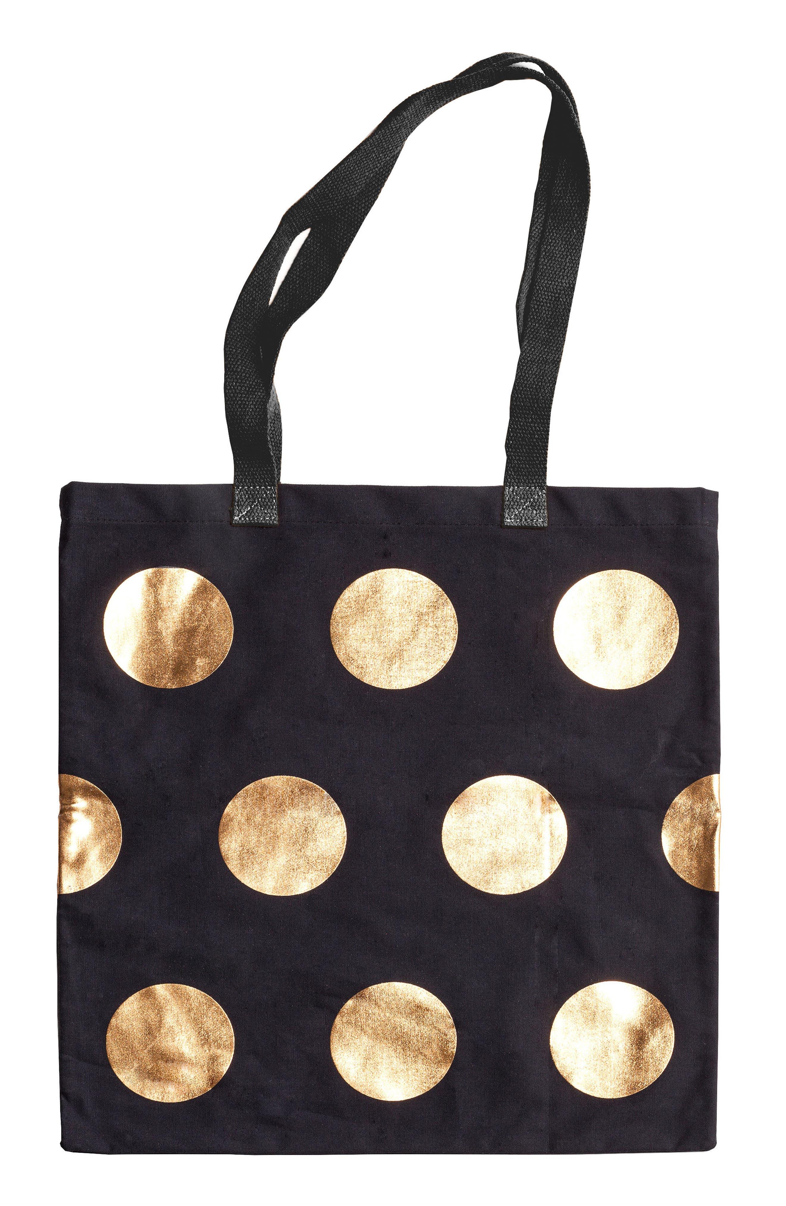 Ladies' Choice Canvas Tote Bag,                             Main thumbnail 1, color,                             001
