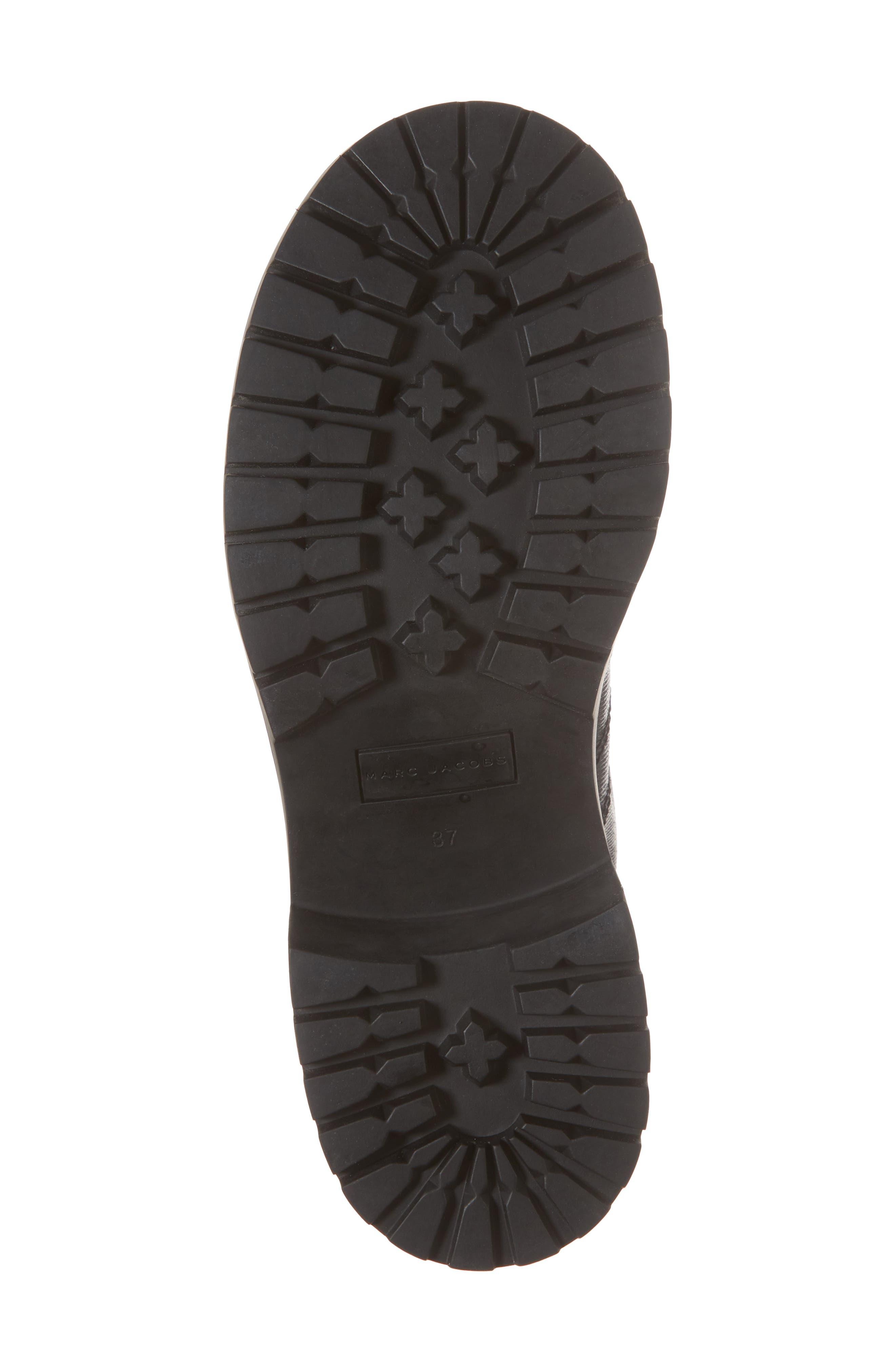 Bristol Lace-Up Boot,                             Alternate thumbnail 6, color,                             001