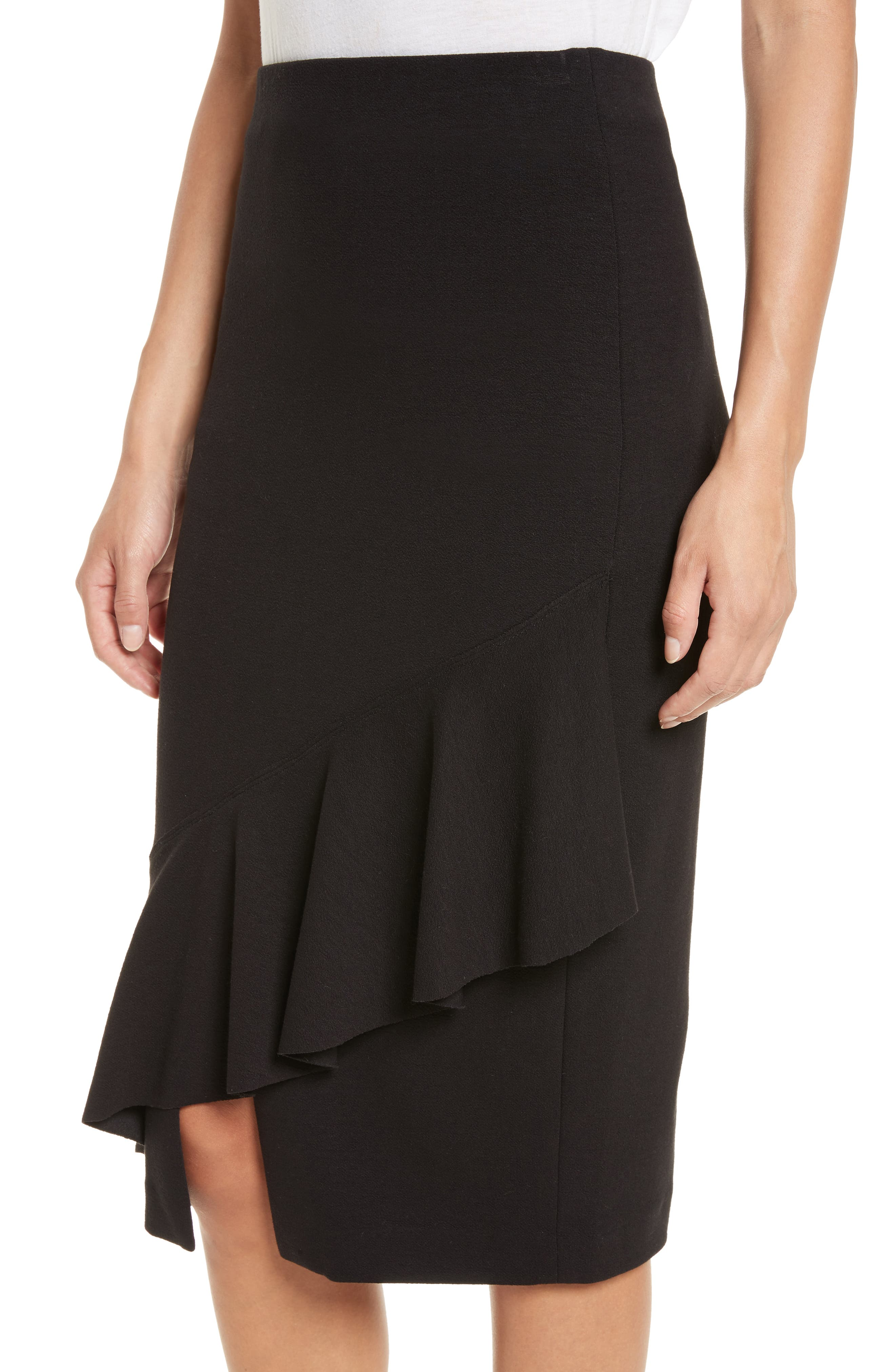 Three-Vent Skirt,                             Alternate thumbnail 4, color,                             001