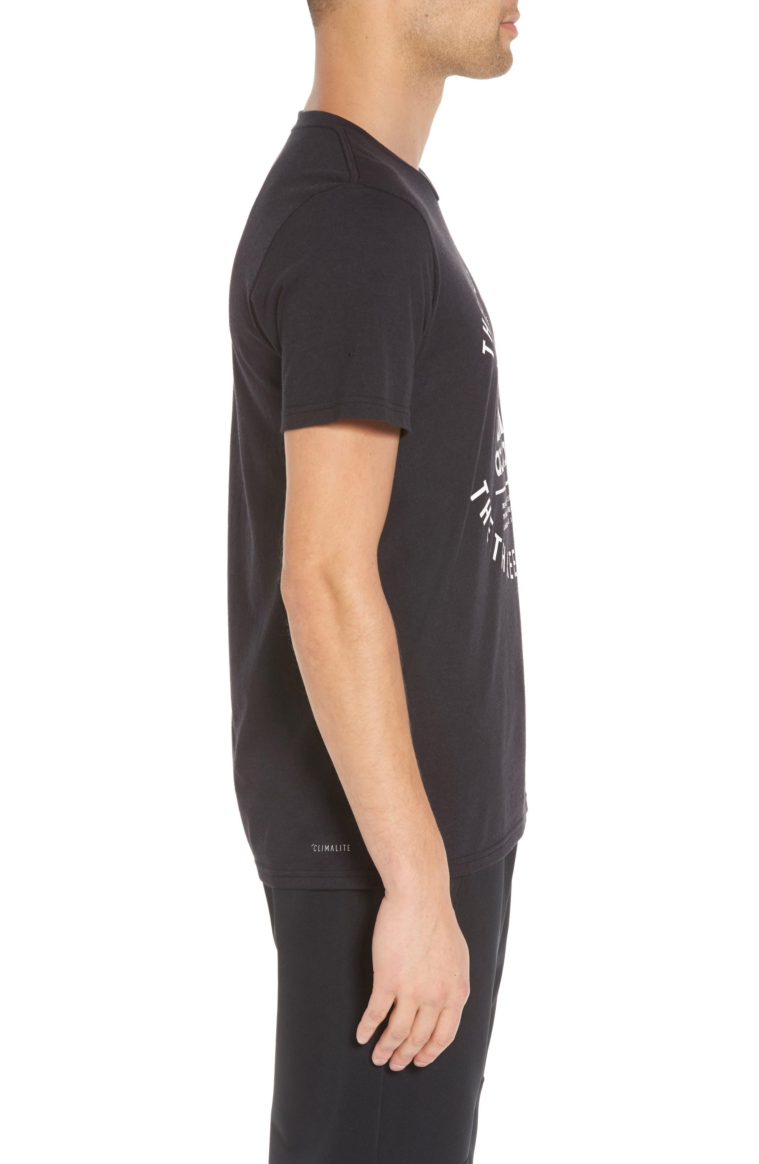 TSL Emblem T-Shirt,                             Alternate thumbnail 3, color,                             BLACK / WHITE