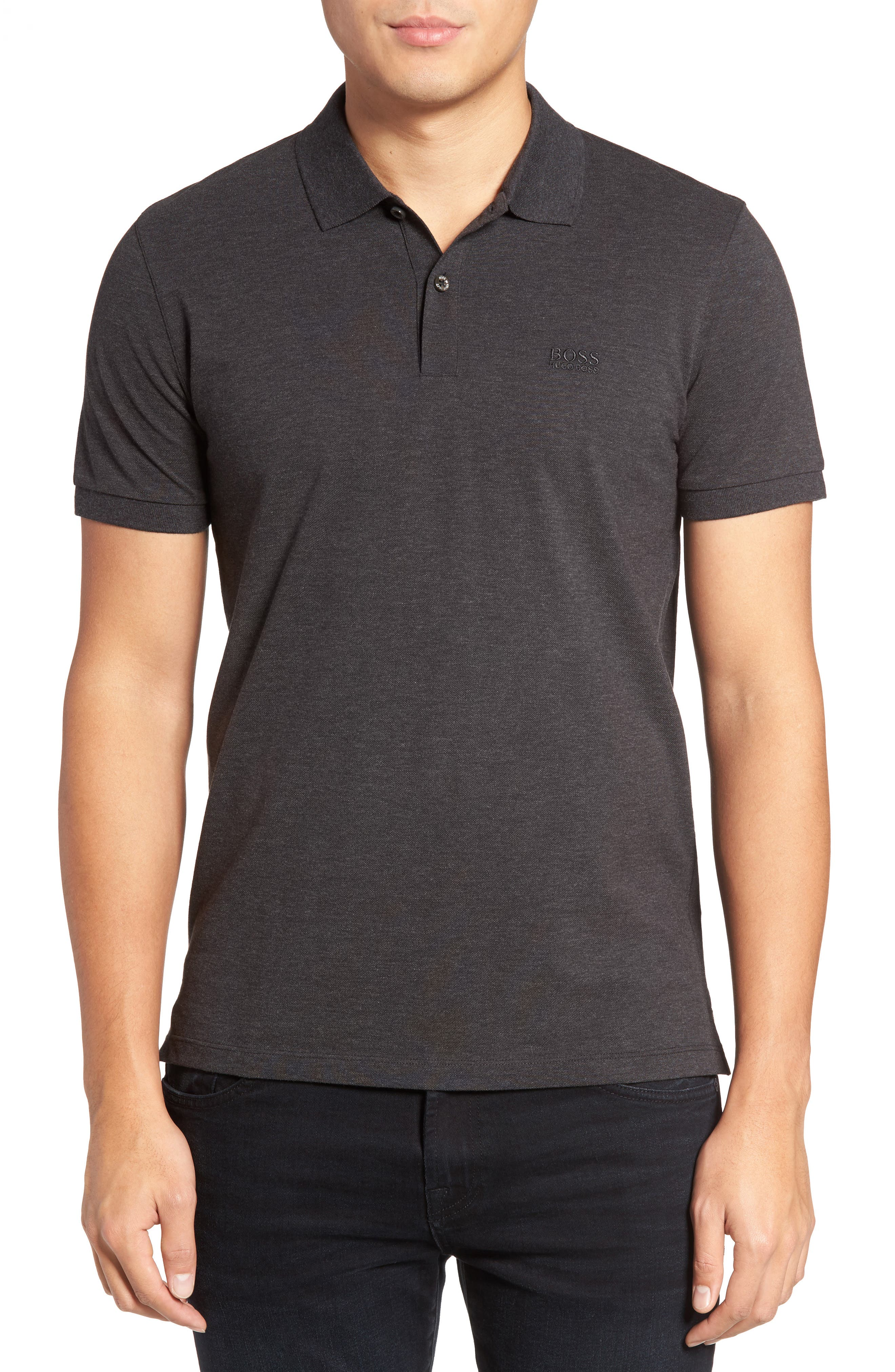 'Pallas' Regular Fit Logo Embroidered Polo Shirt,                             Main thumbnail 4, color,