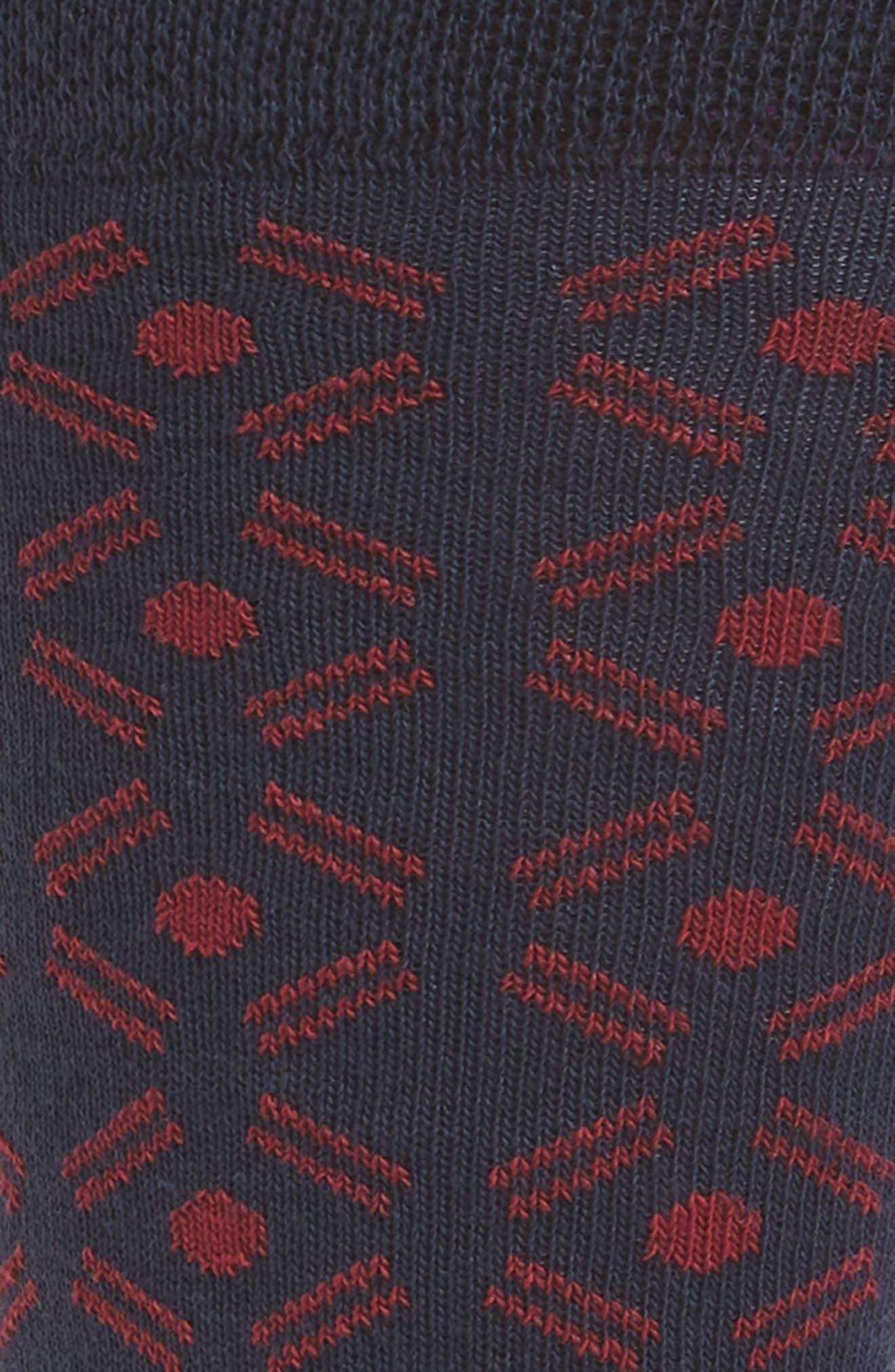 Saap Geometric Socks,                             Alternate thumbnail 2, color,                             410
