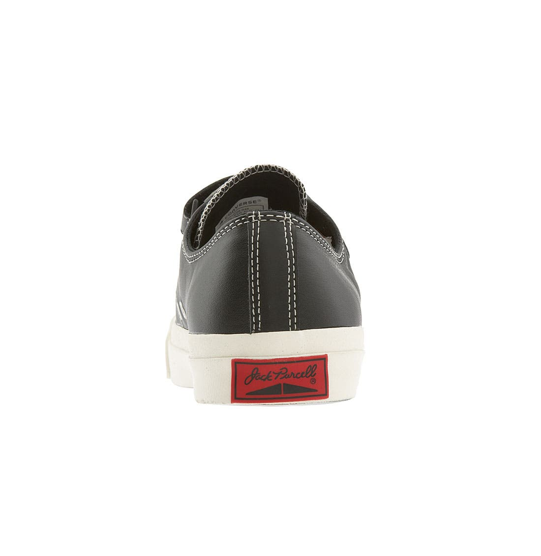 CONVERSE,                             'Jack Purcell' Velcro<sup>®</sup> Sneaker,                             Alternate thumbnail 4, color,                             001