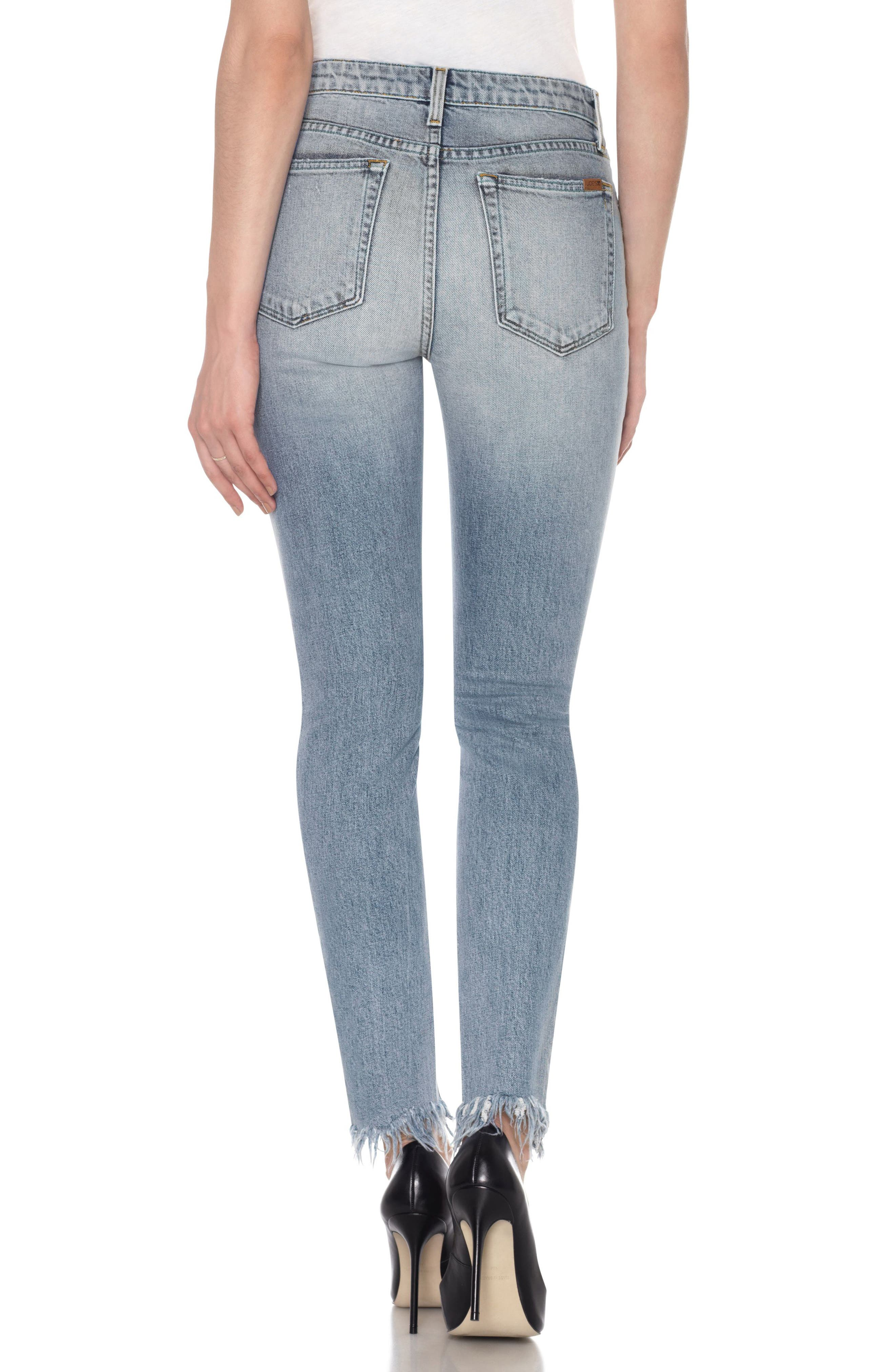 Charlie High Waist Ankle Skinny Jeans,                             Alternate thumbnail 2, color,                             430