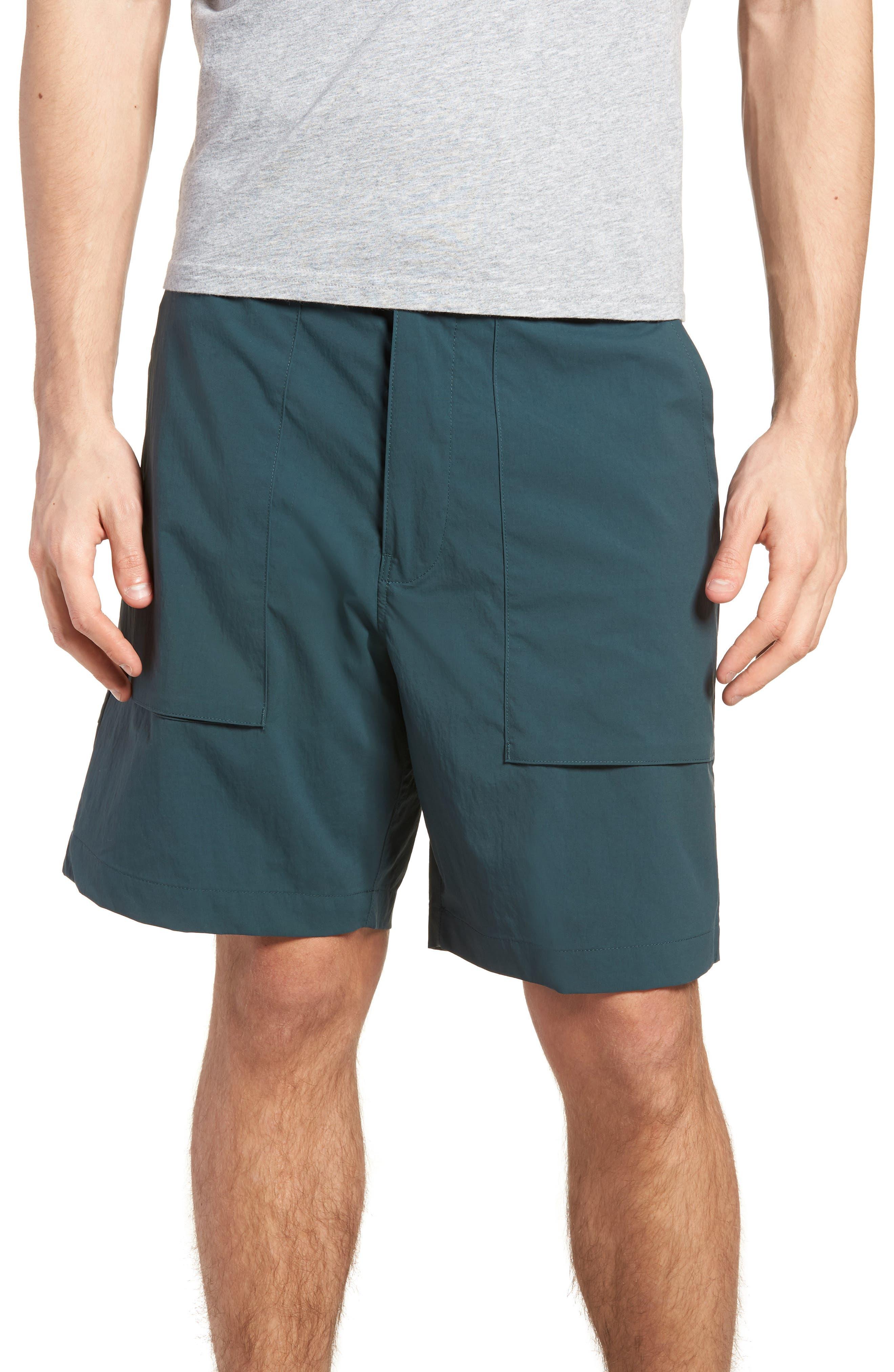 SB Flex Everett Shorts,                         Main,                         color, DEEP JUNGLE/ BLACK