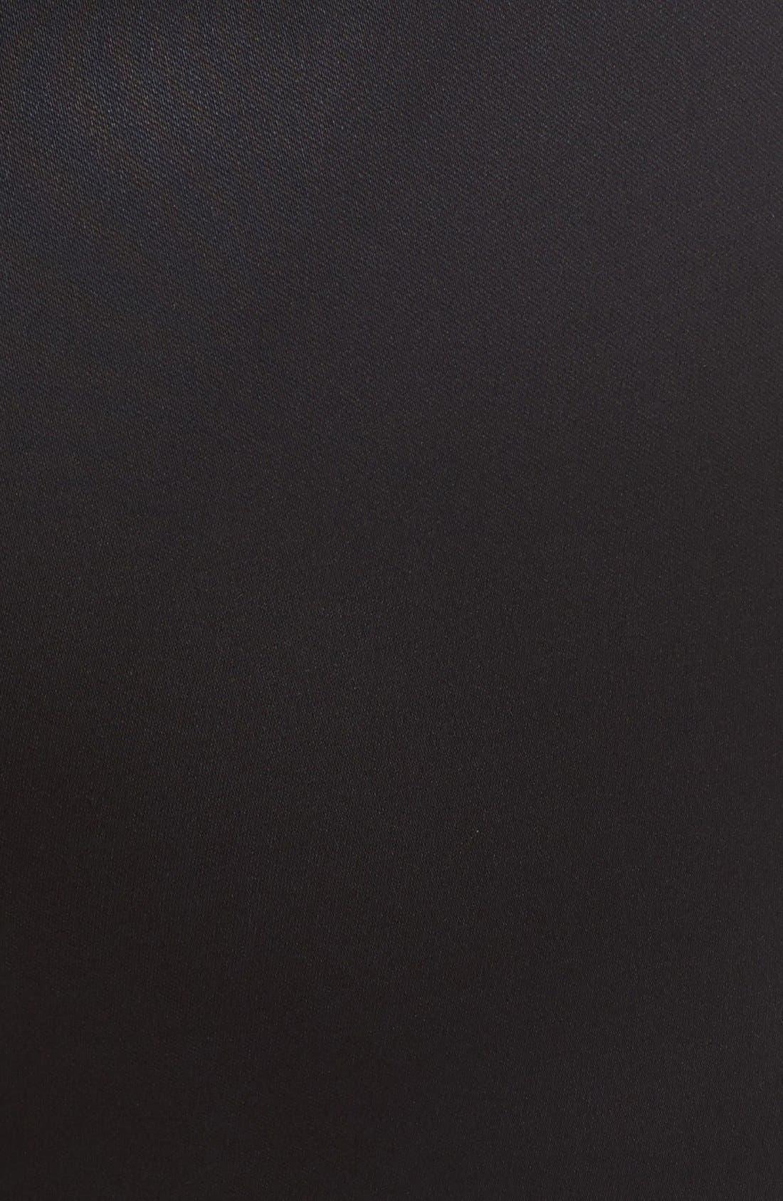 'Stanton - Belle Satin' Pants,                             Alternate thumbnail 3, color,                             BLACK