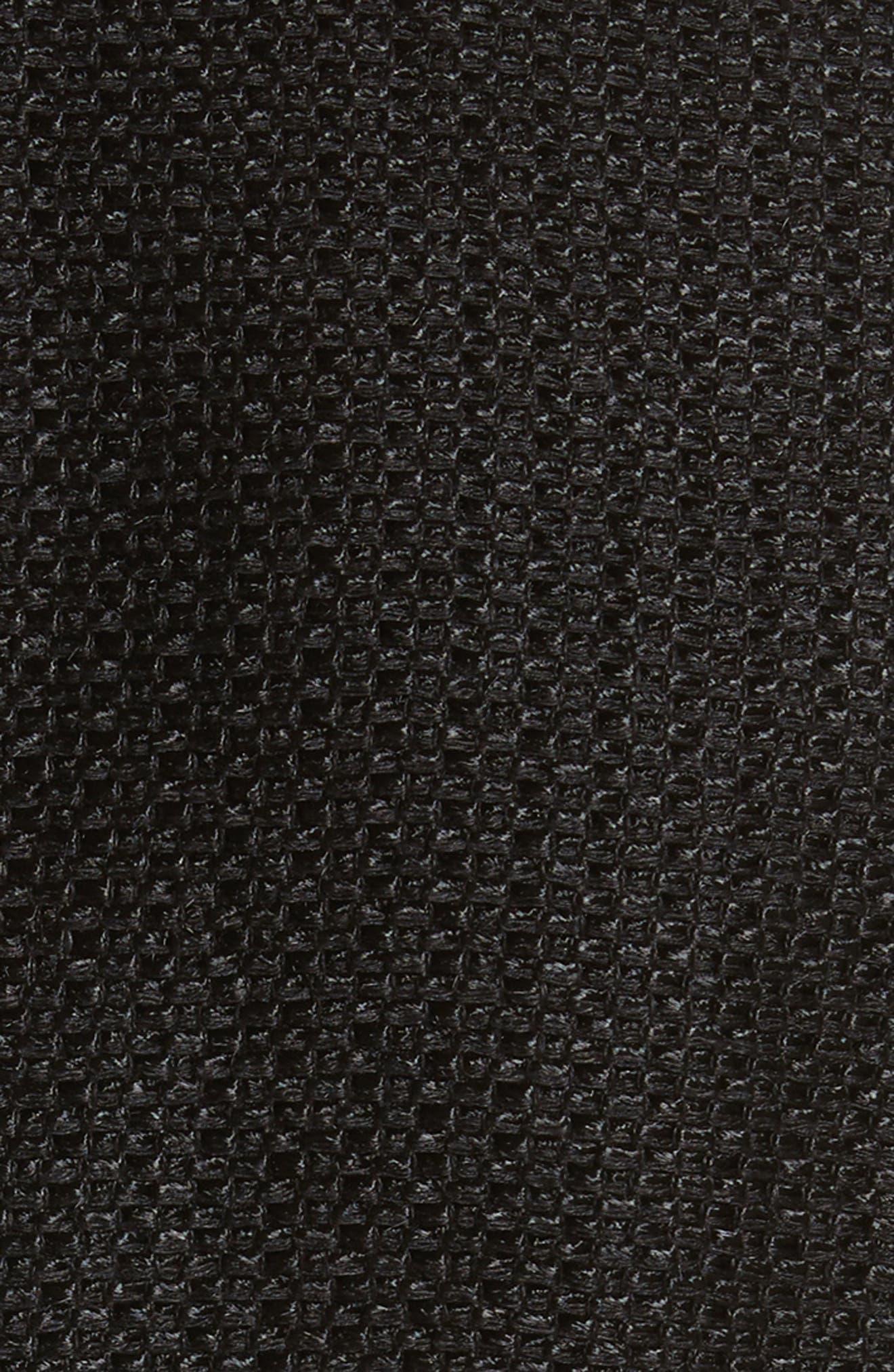 Linen & Silk Blend Tweed Jacket,                             Alternate thumbnail 5, color,                             001