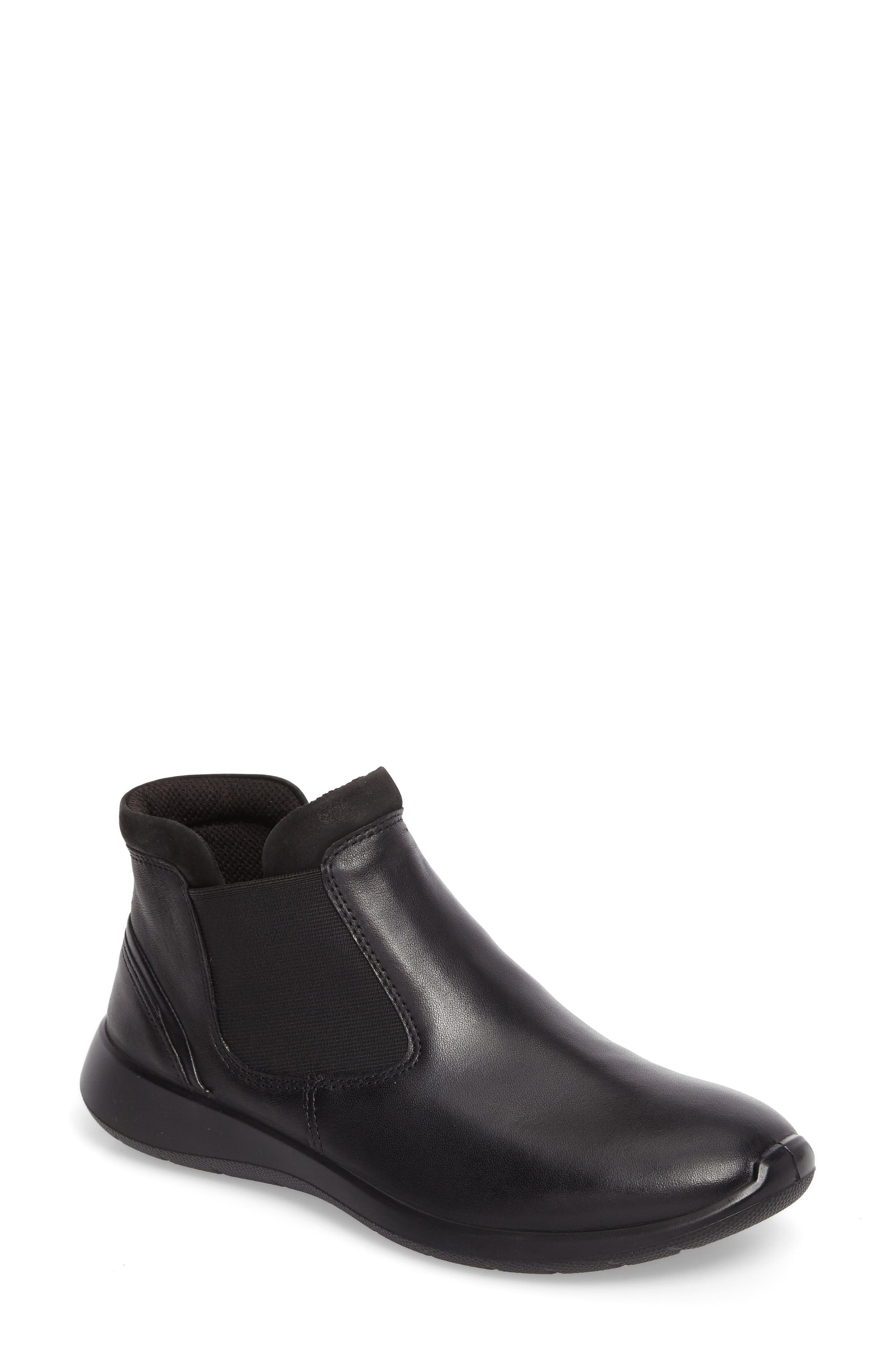 Soft 5 Chelsea Boot,                             Main thumbnail 1, color,                             001