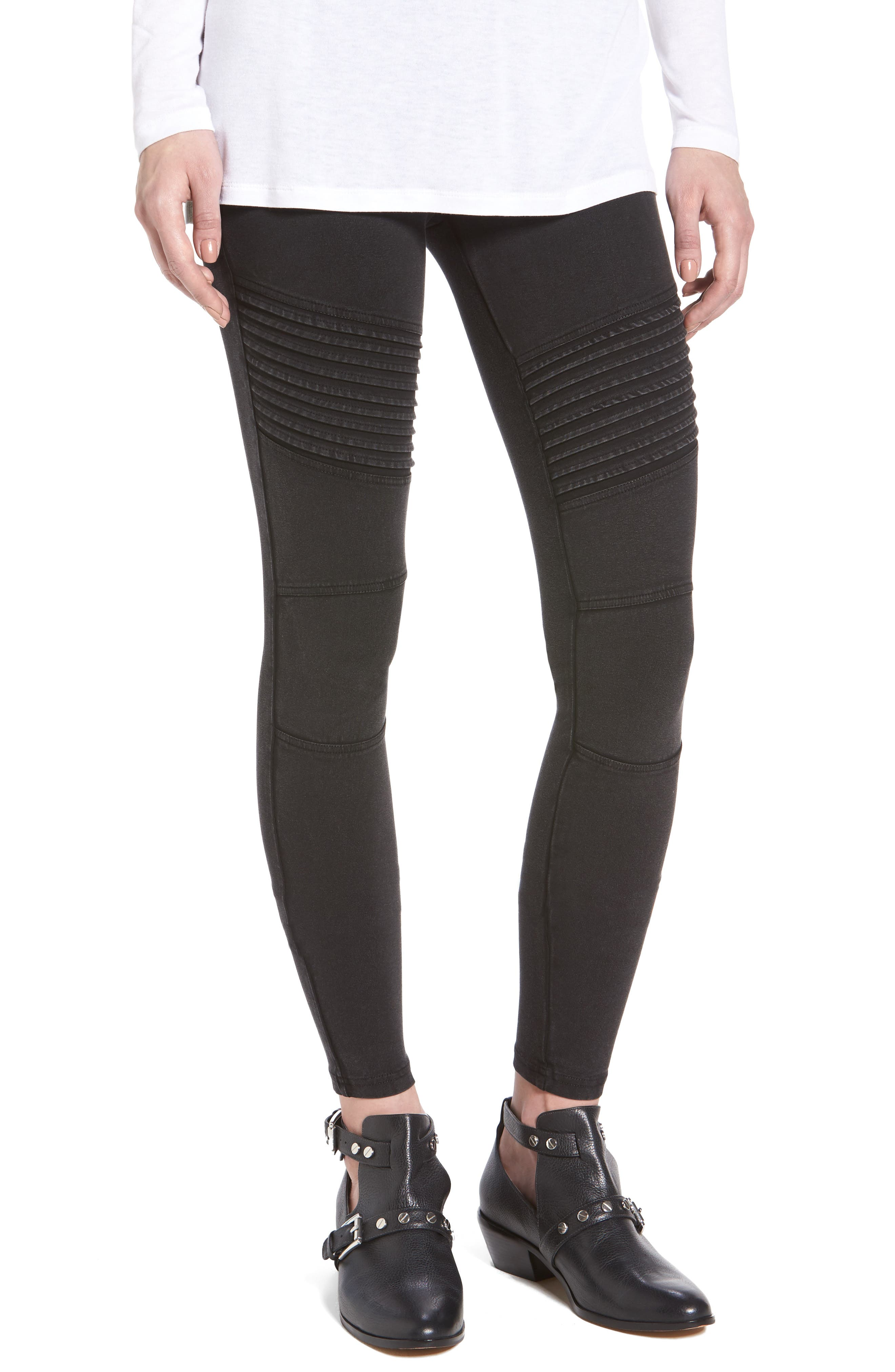 BP.,                             Moto Leggings,                             Main thumbnail 1, color,                             001