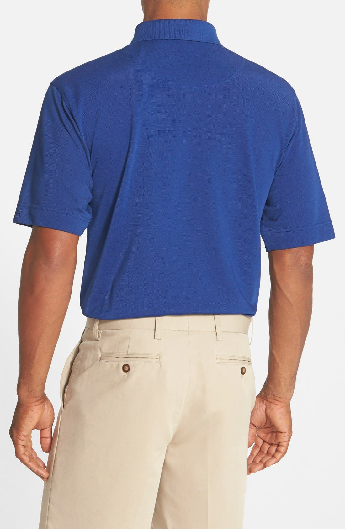 'Championship' Classic Fit DryTec Golf Polo,                             Alternate thumbnail 2, color,                             TOUR BLUE