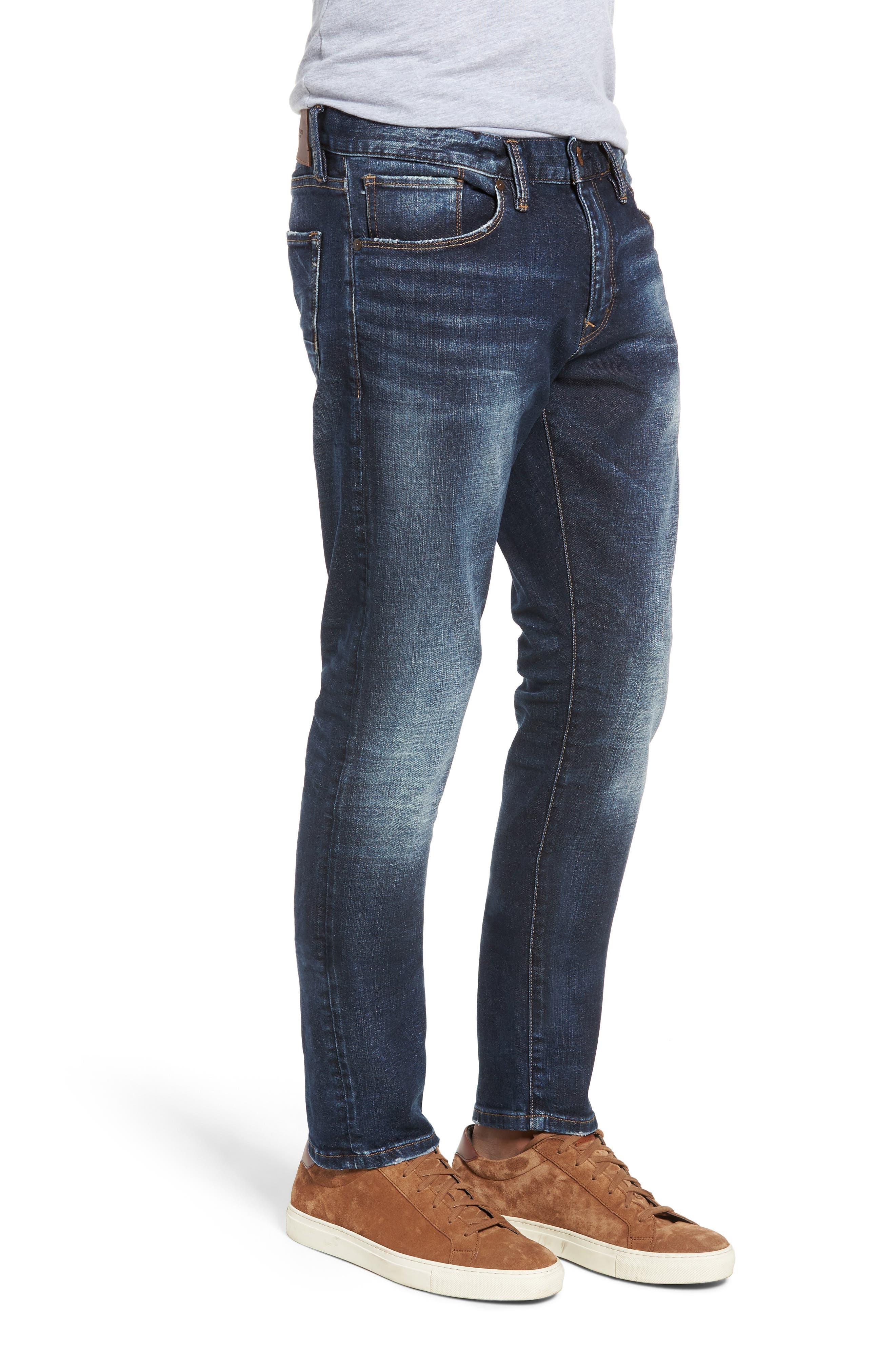 SILVER JEANS CO.,                             Ashdown Slim Straight Fit Jeans,                             Alternate thumbnail 3, color,                             INDIGO