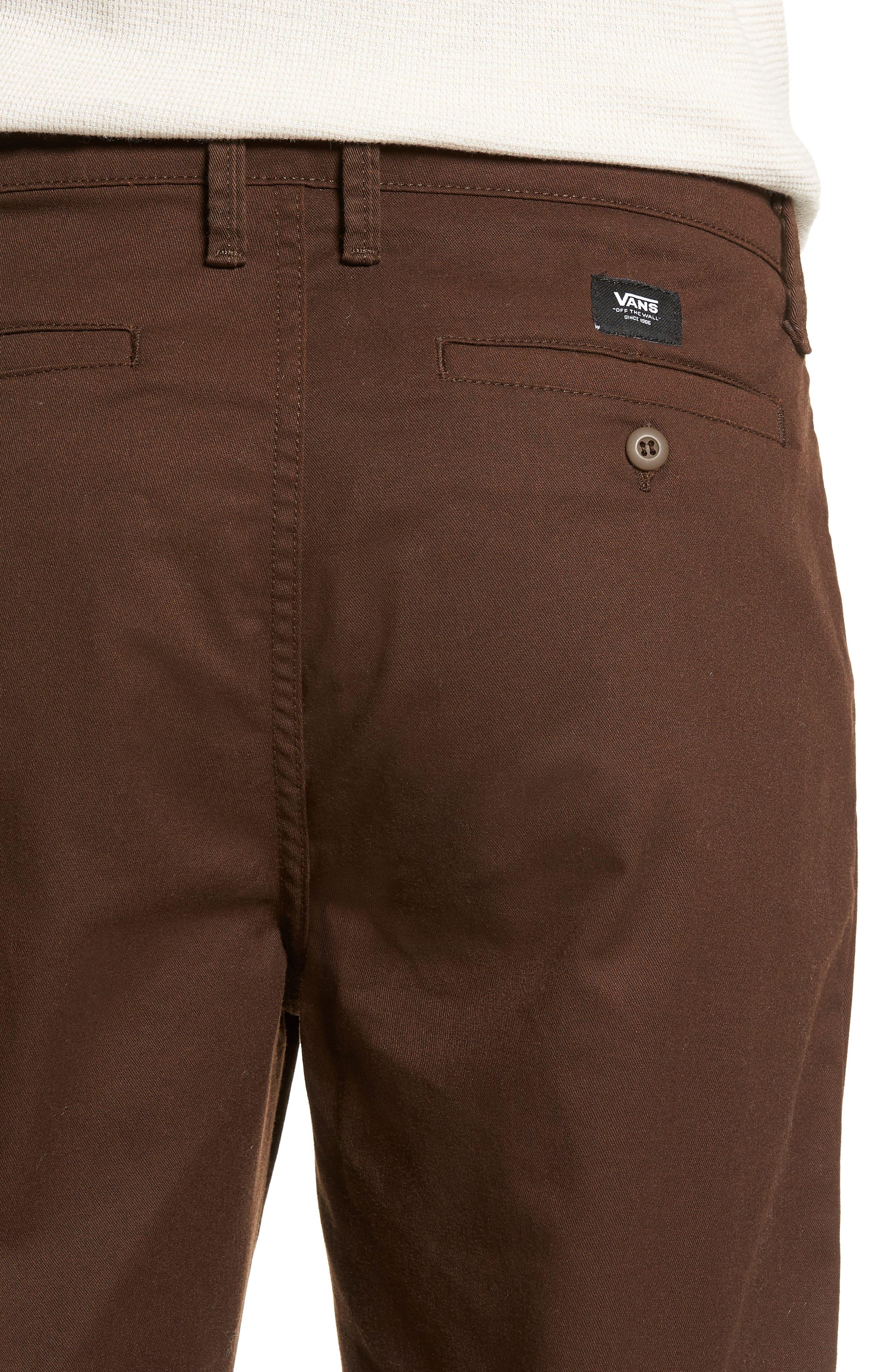 Authentic Chino Pro Pants,                             Alternate thumbnail 4, color,                             DEMITASSE