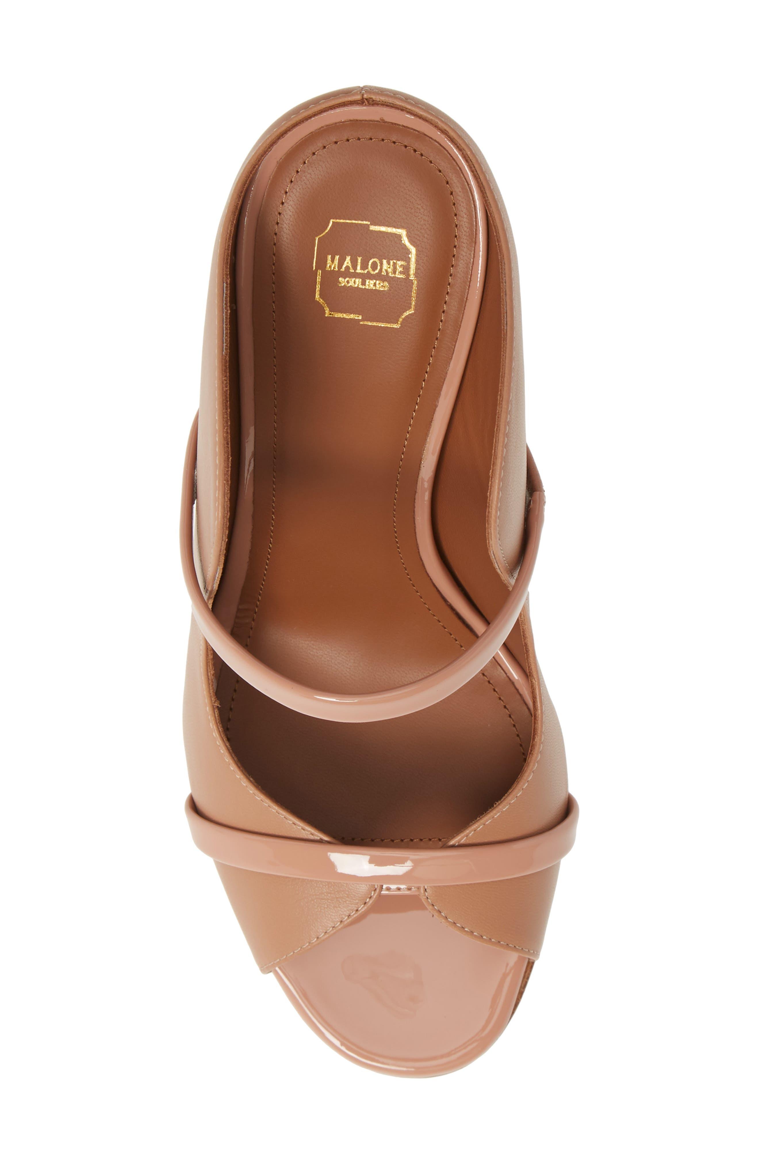 MALONE SOULIERS,                             Norah Block Heel Sandal,                             Alternate thumbnail 5, color,                             NUDE/ BLUSH