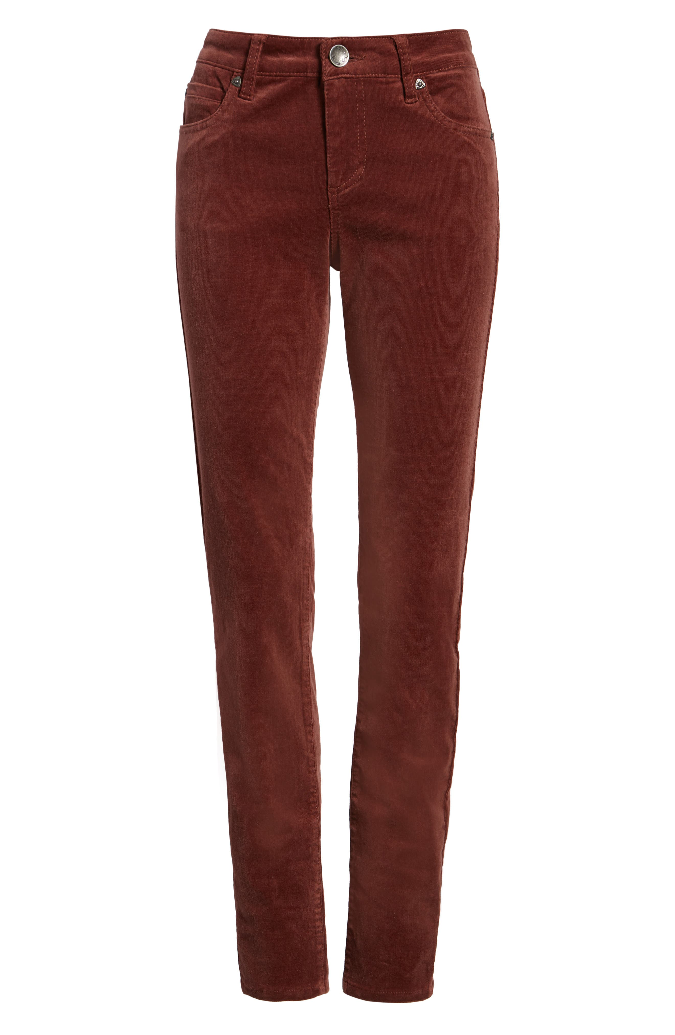 'Diana' Stretch Corduroy Skinny Pants,                             Alternate thumbnail 267, color,