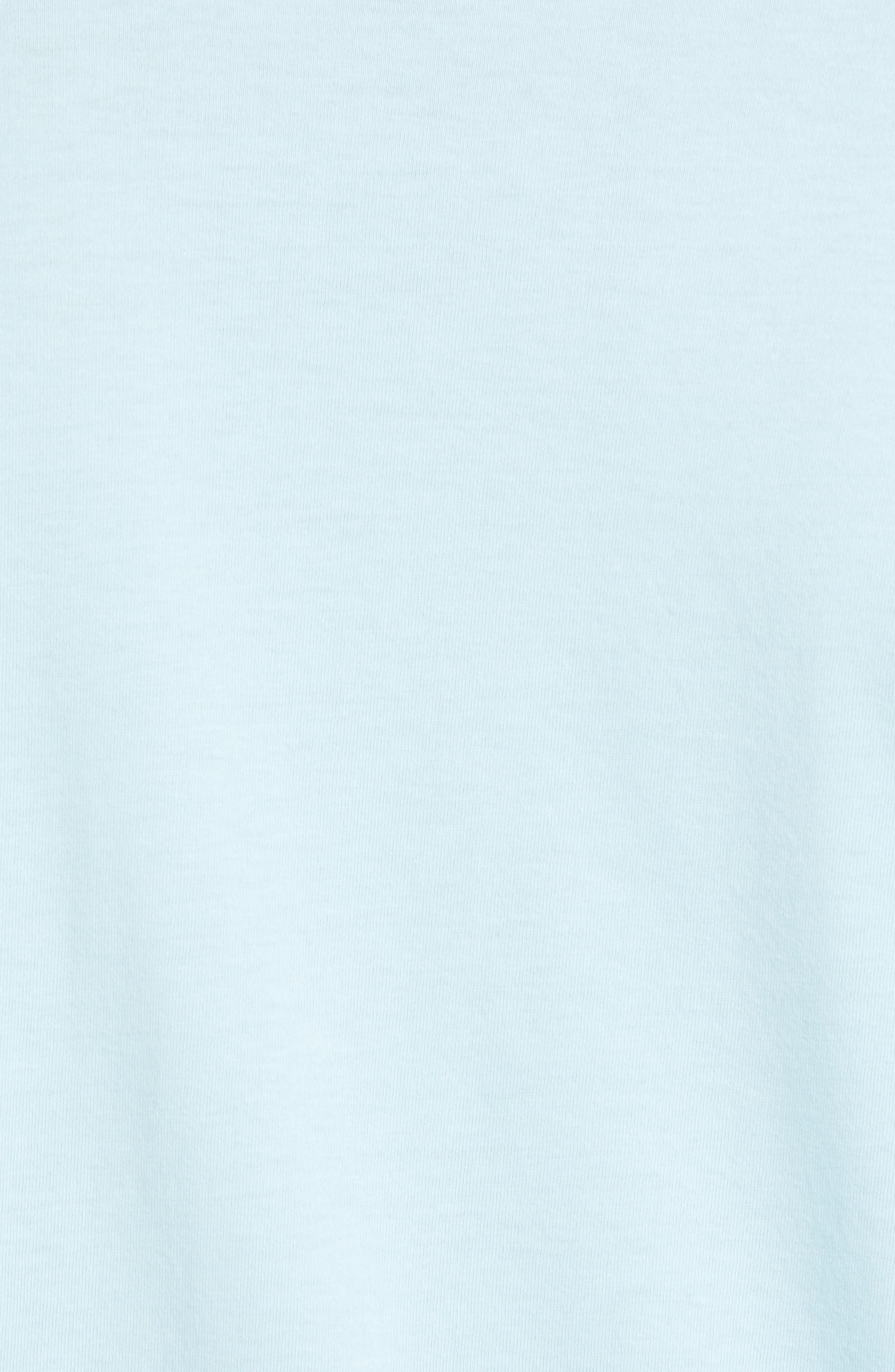 Medium is the Message Premium T-Shirt,                             Alternate thumbnail 5, color,                             POWDER BLUE