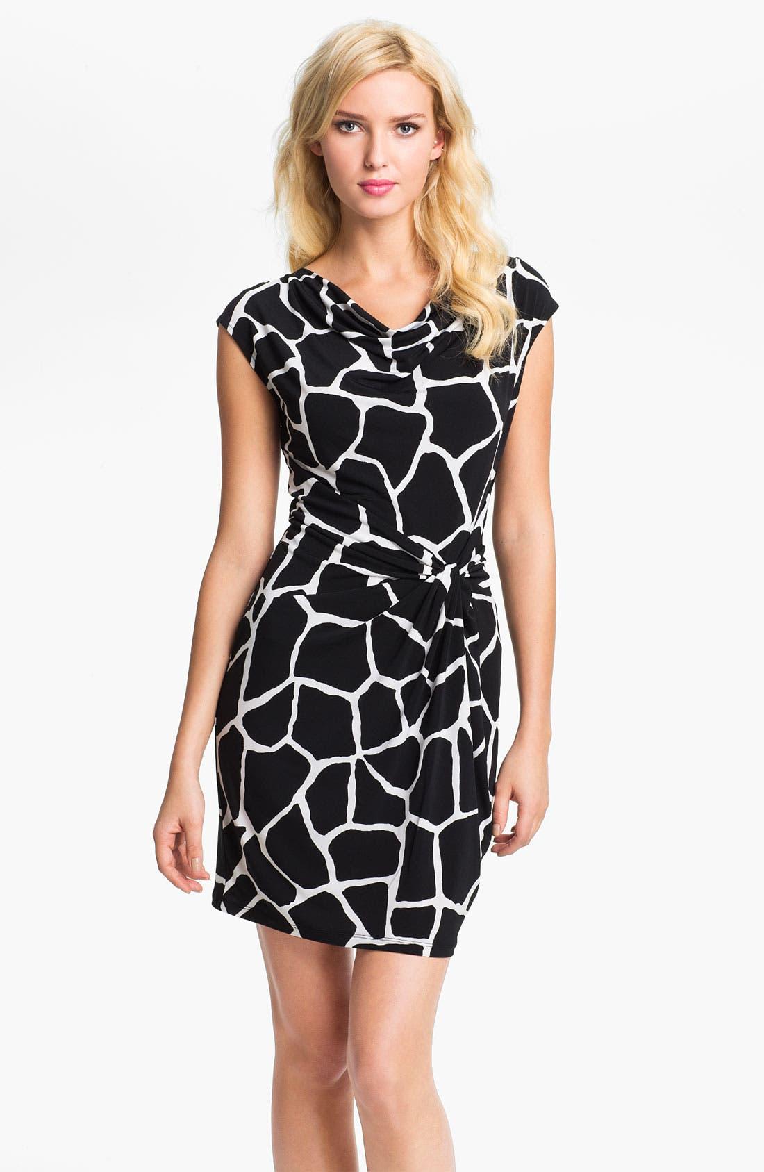 Twist Knot Dress, Main, color, 001