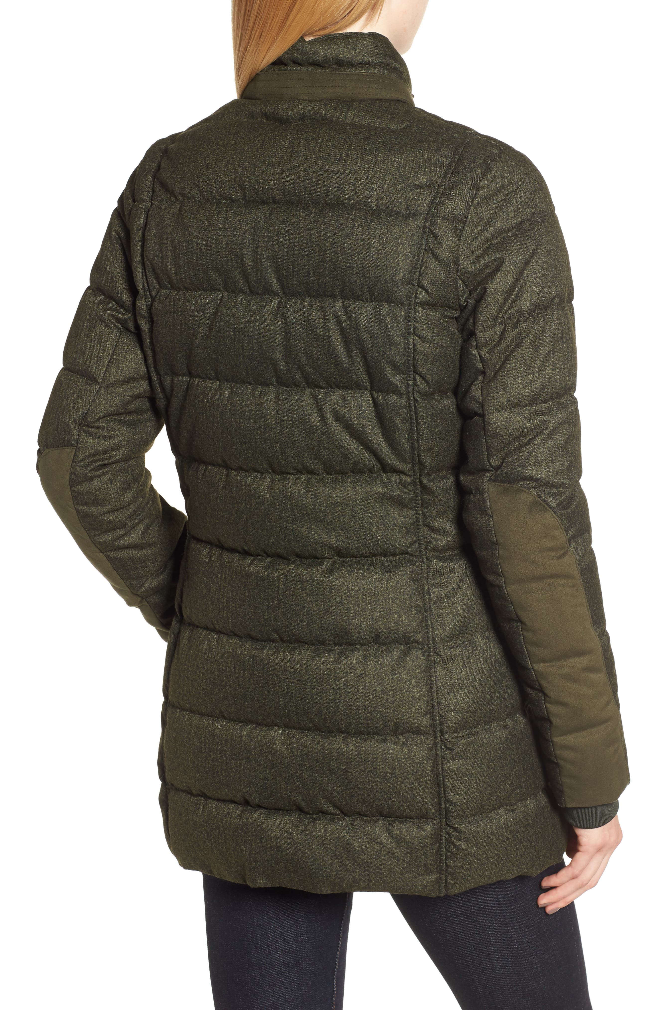 Goldfinch Quilted Jacket,                             Alternate thumbnail 2, color,                             OLIVE
