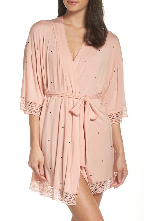 b9457bfa83 UGG SUP ®  SUP . Anika Fleece Lined Flannel Robe. USD 125. Dots Short Robe