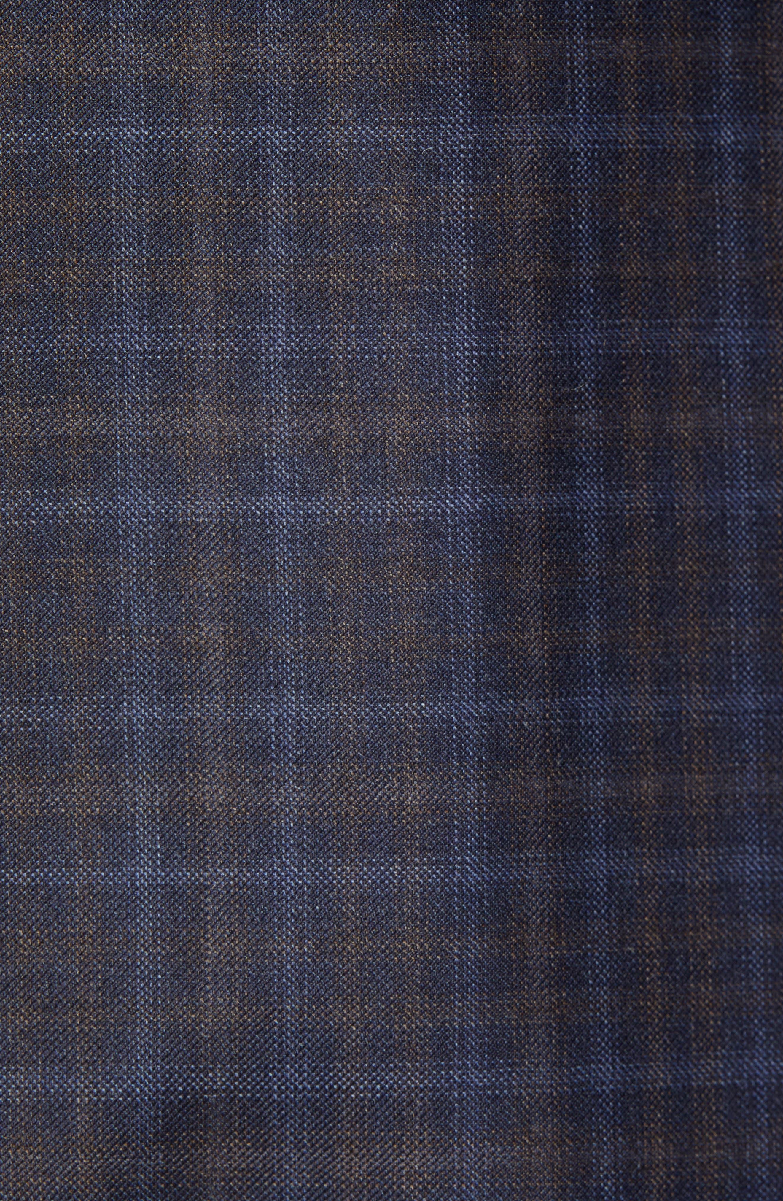 Flynn Classic Fit Wool Sport Coat,                             Alternate thumbnail 6, color,                             NAVY