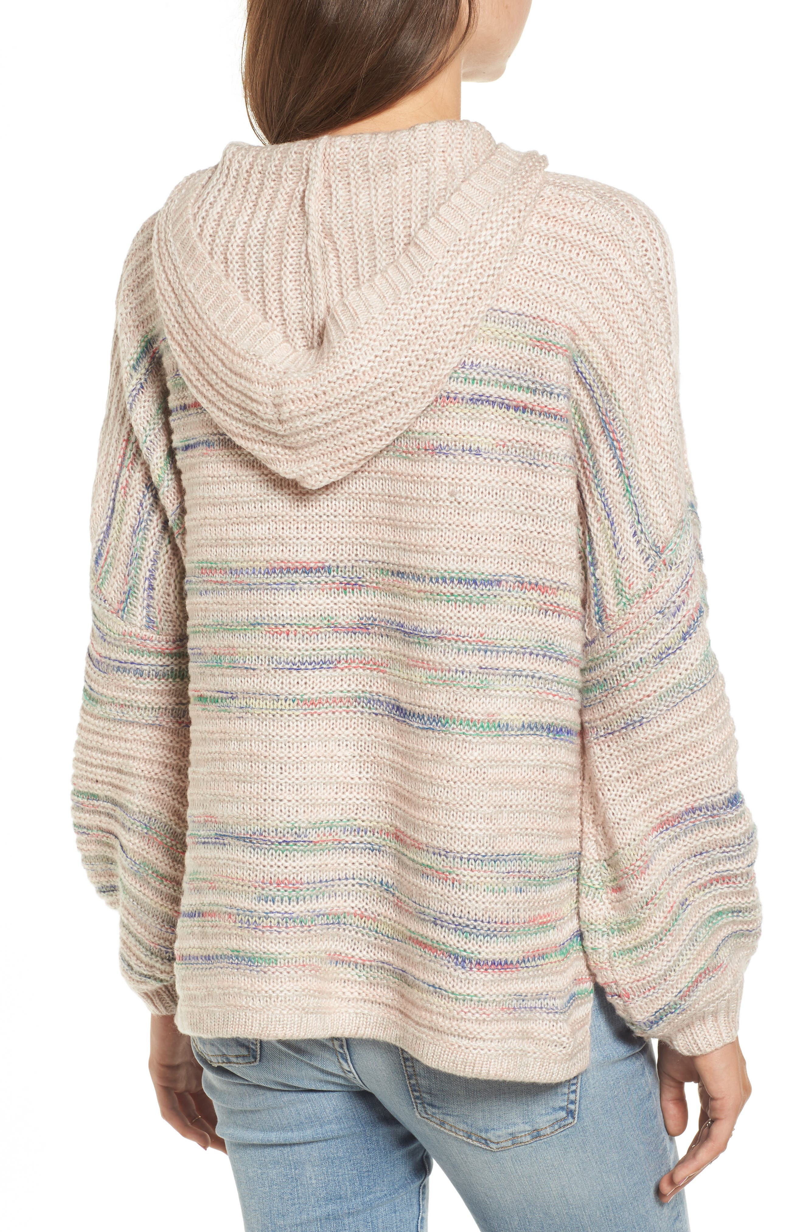 Oversized Sweater Knit Hoodie,                             Alternate thumbnail 2, color,                             250