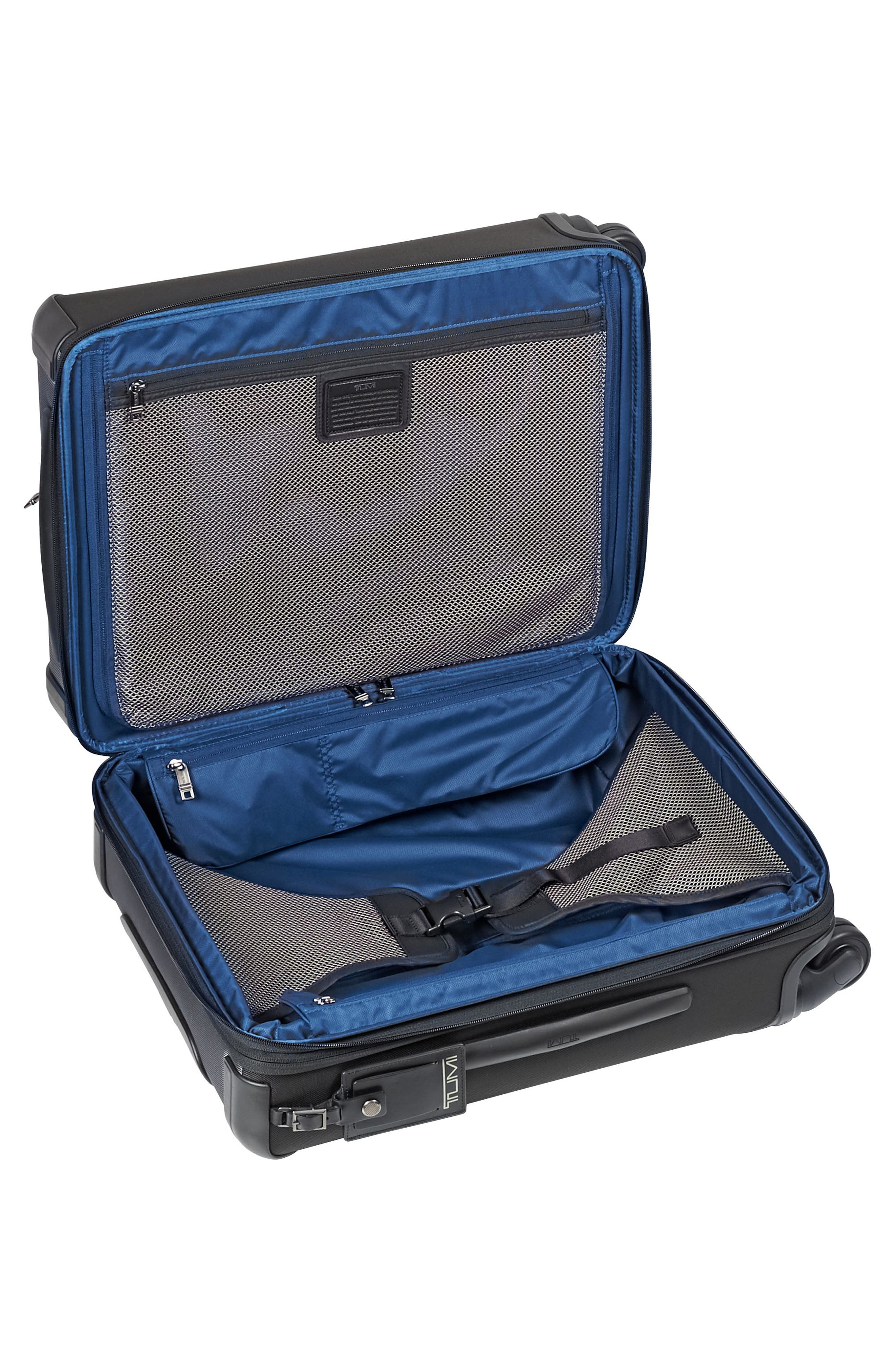 Alpha 2 22-Inch Continental Wheeled Carry-On,                             Alternate thumbnail 5, color,                             PEWTER
