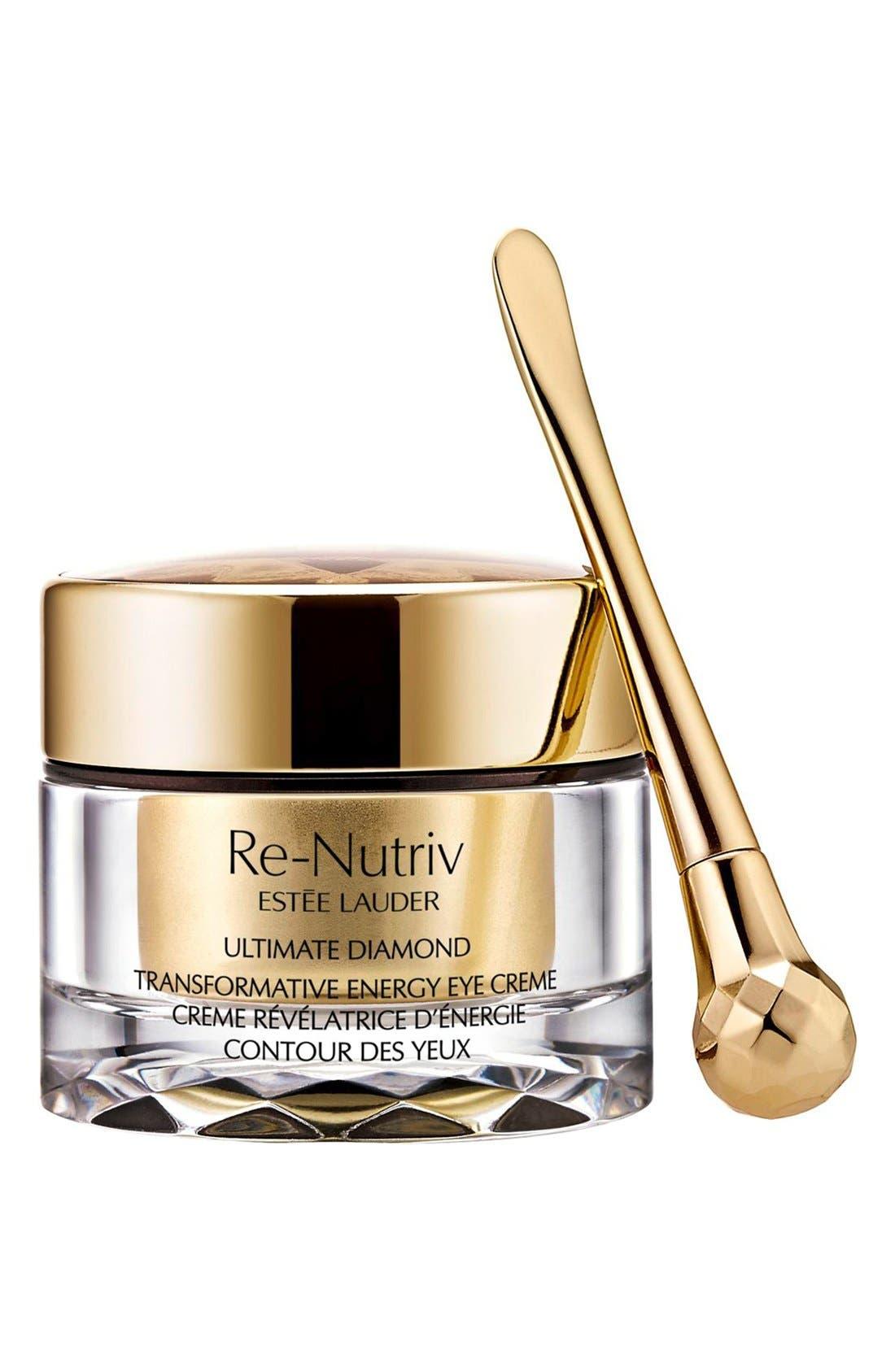 Re-Nutriv Ultimate Diamond Transformative Energy Eye Crème,                         Main,                         color, NO COLOR