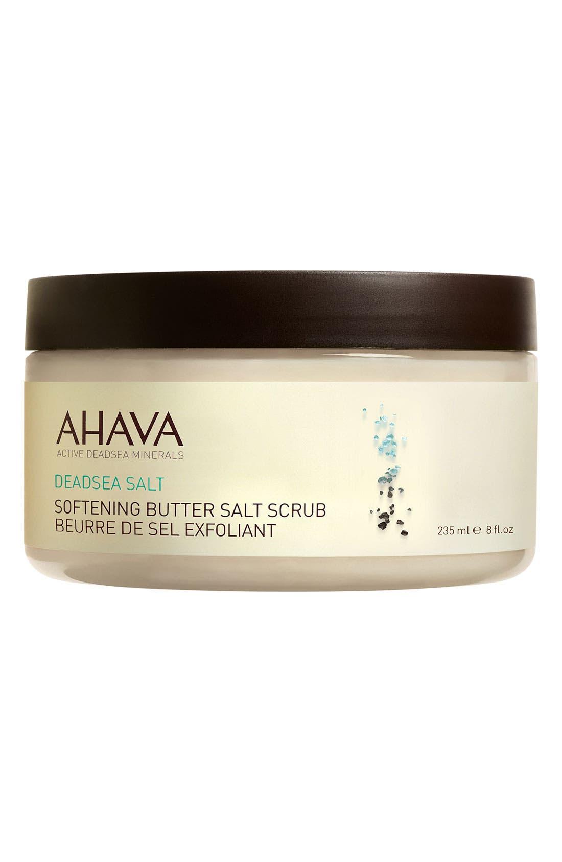 'DeadSea Salt' Softening Butter Salt Scrub,                             Main thumbnail 1, color,                             000
