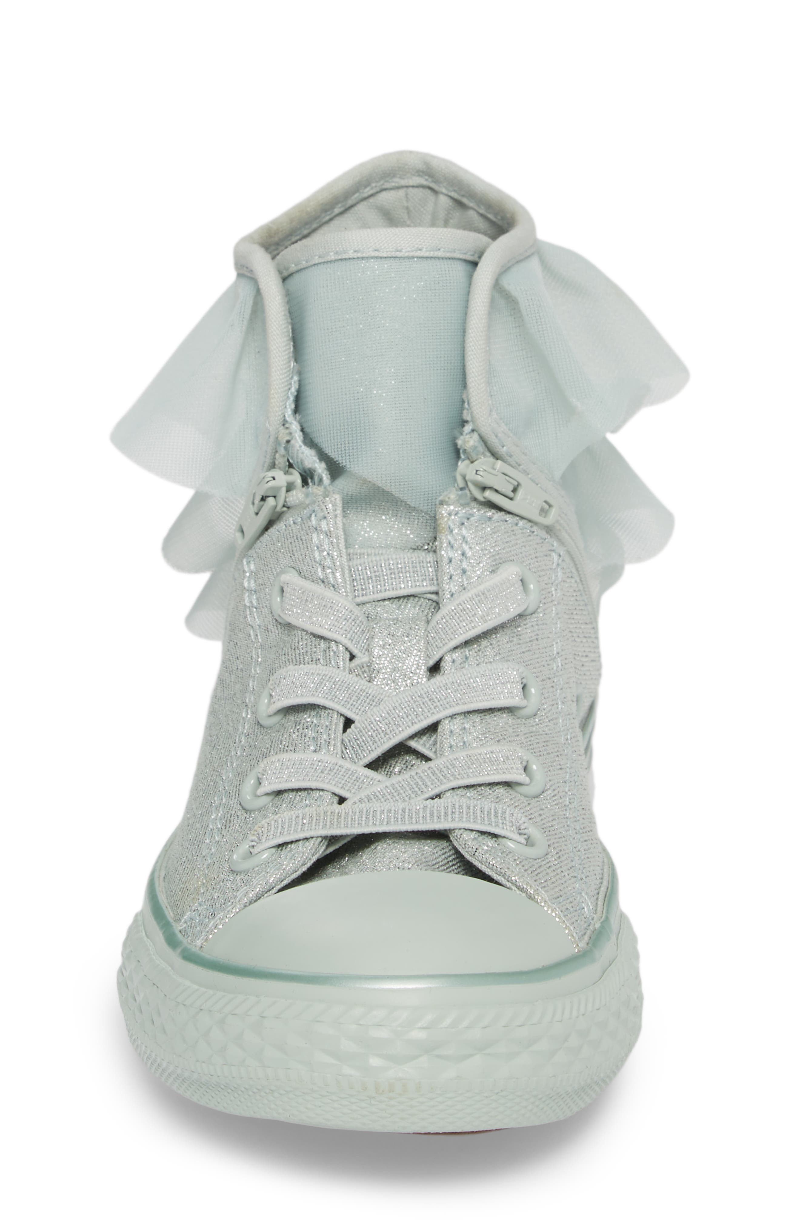 All Star<sup>®</sup> Mono Shine Party High Top Sneaker,                             Alternate thumbnail 4, color,