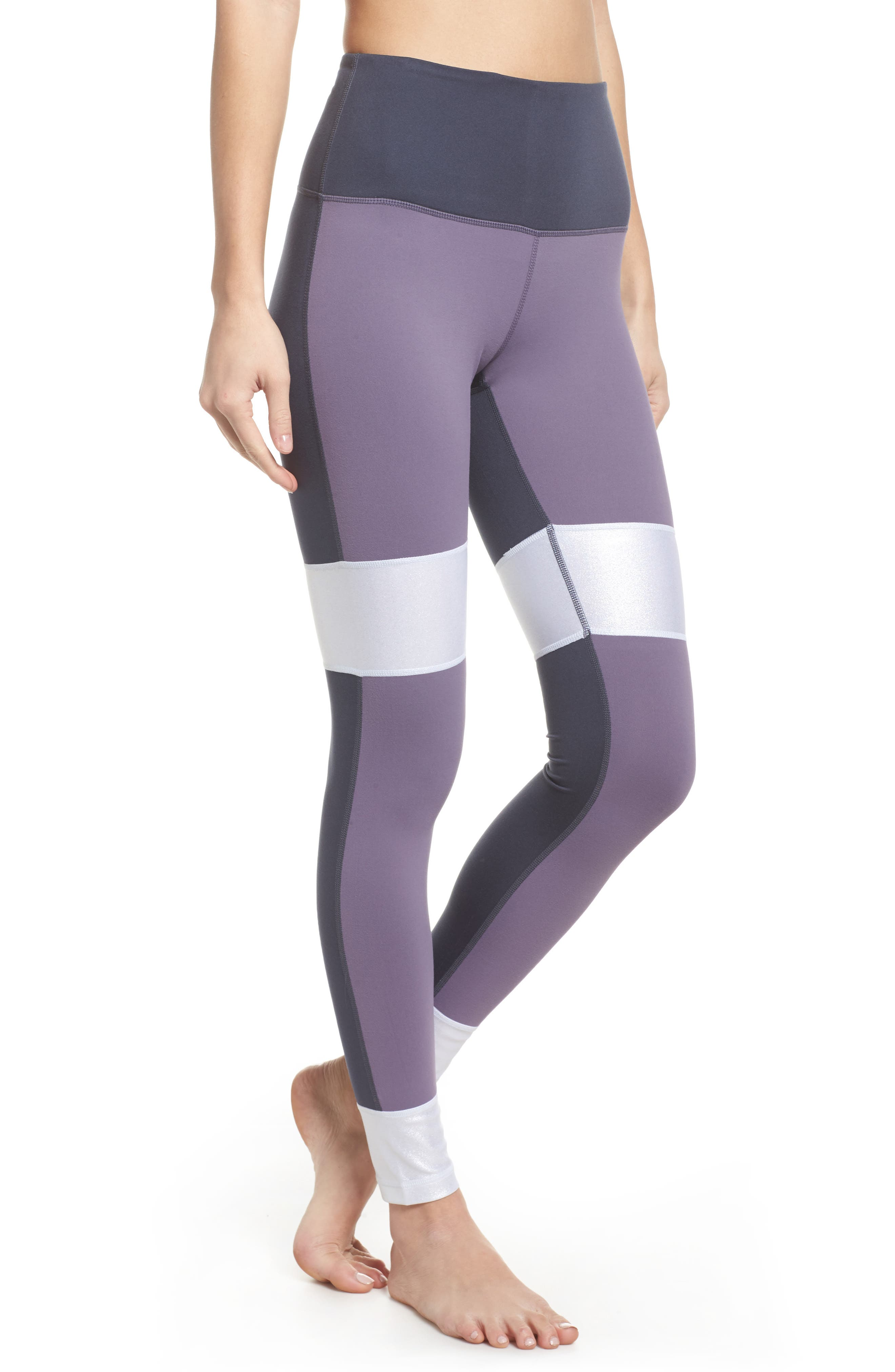Around the Block High Waist Ankle Leggings,                         Main,                         color, 500