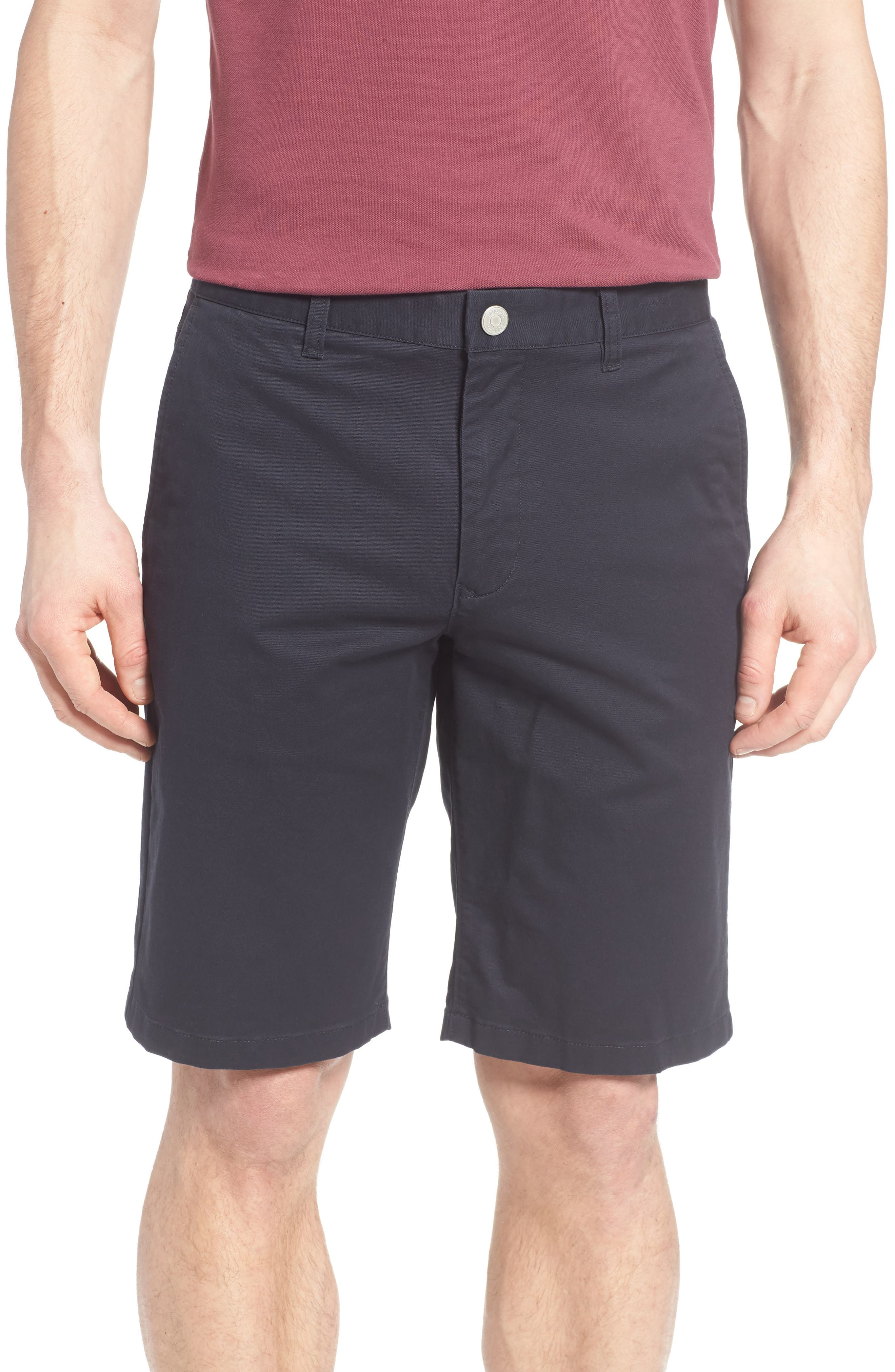 Stretch Washed Chino 11-Inch Shorts,                             Main thumbnail 19, color,