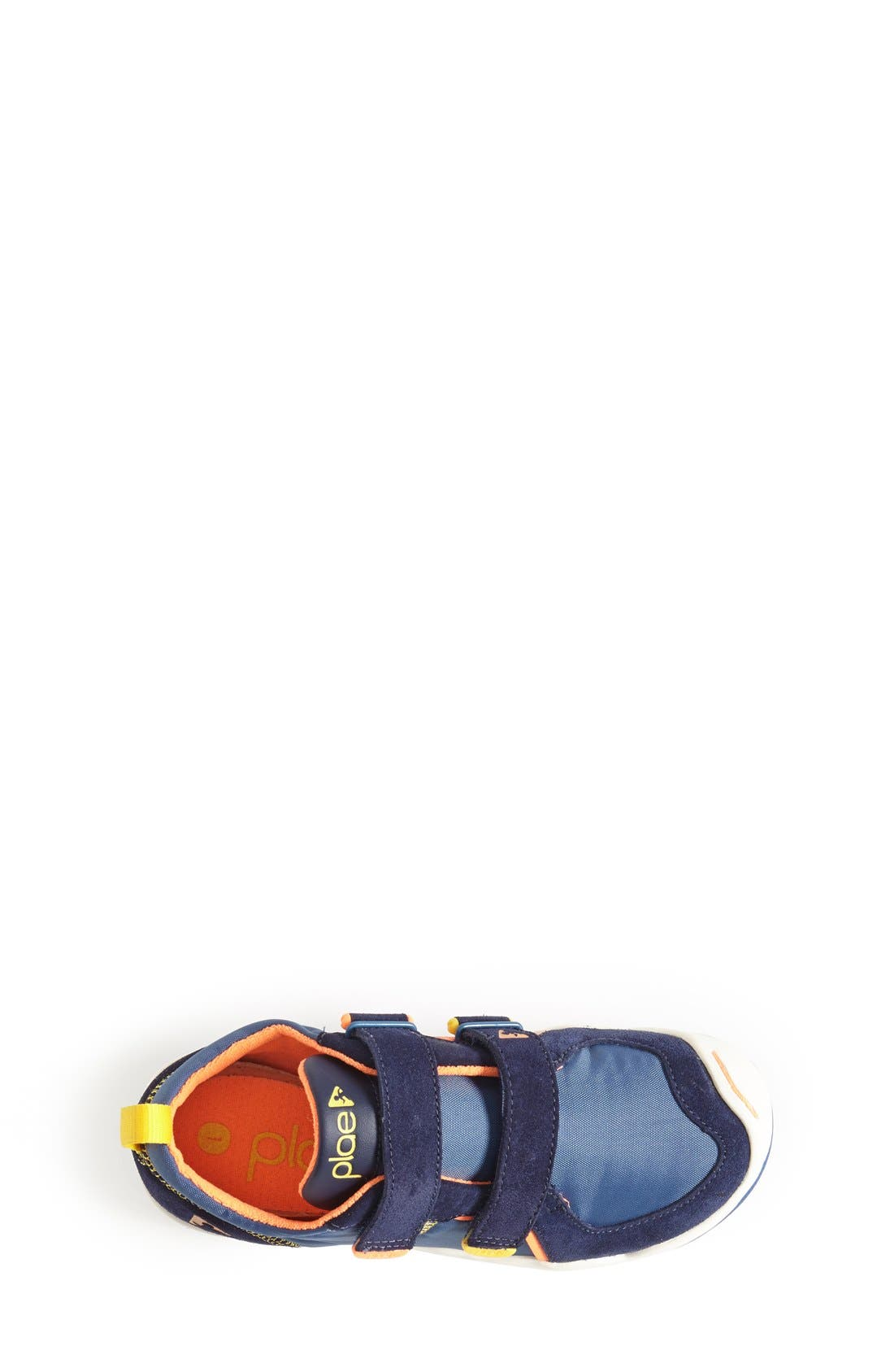 Ty Customizable Sneaker,                             Alternate thumbnail 3, color,                             DARK BLUE