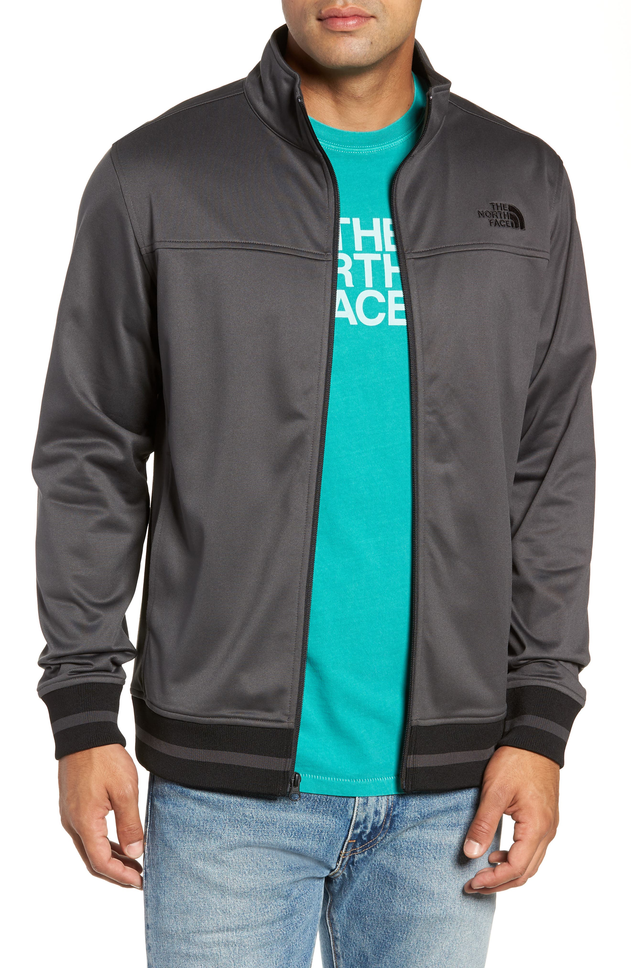 Alphabet City Track Jacket,                             Main thumbnail 1, color,                             ASPHALT GREY